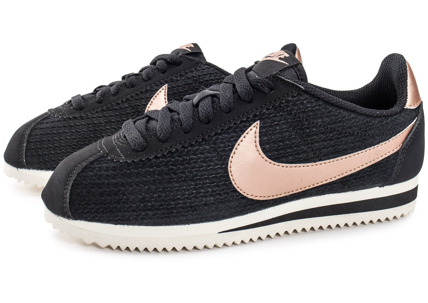 nike cortez leather se bronze chaussures femme chausport. Black Bedroom Furniture Sets. Home Design Ideas