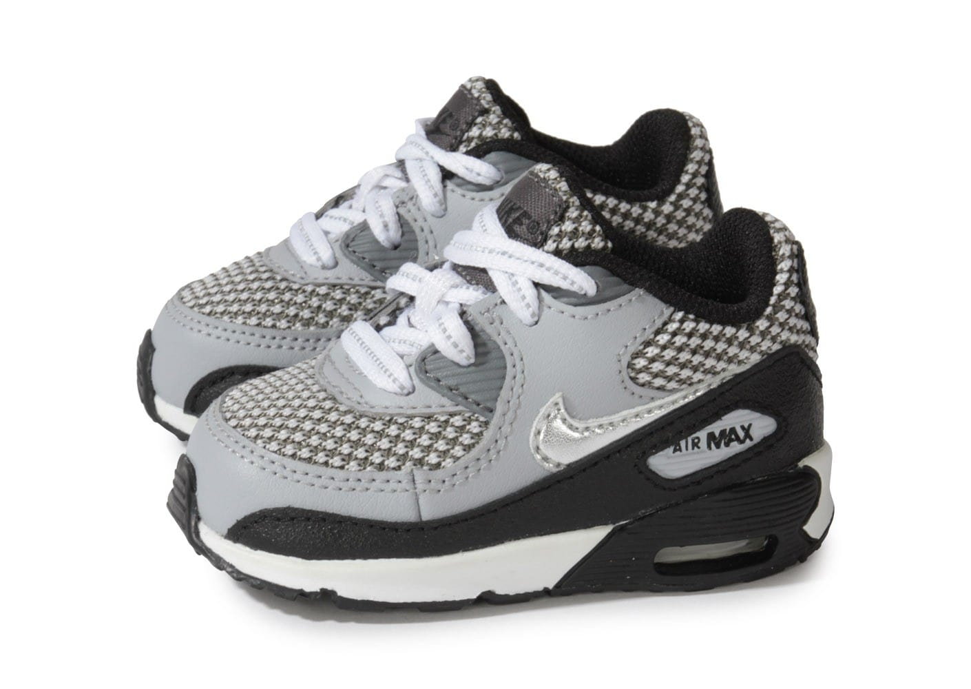 nike air max 90 b b grise chaussures chaussures chausport. Black Bedroom Furniture Sets. Home Design Ideas
