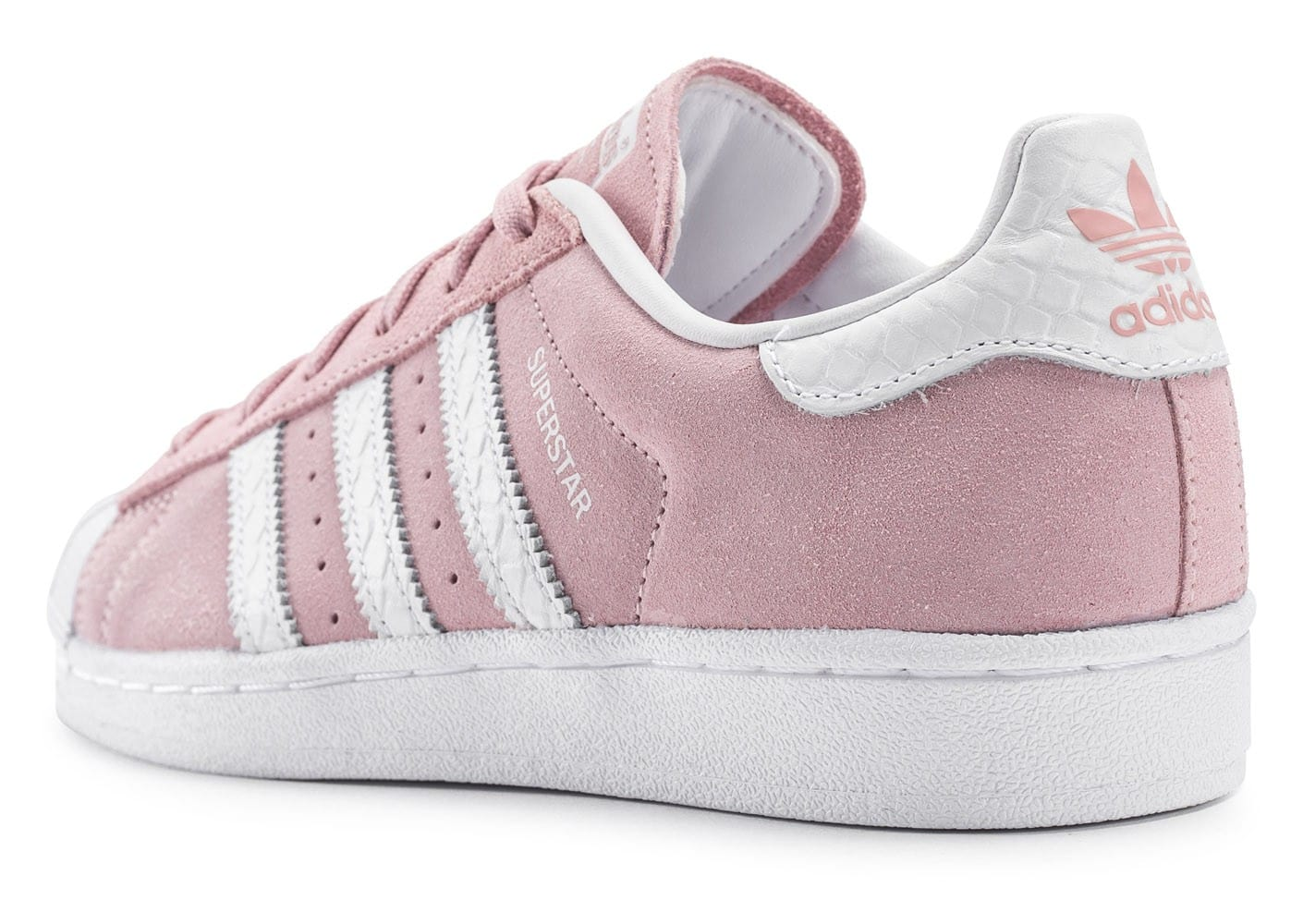 adidas superstar suede rose p le chaussures adidas chausport. Black Bedroom Furniture Sets. Home Design Ideas