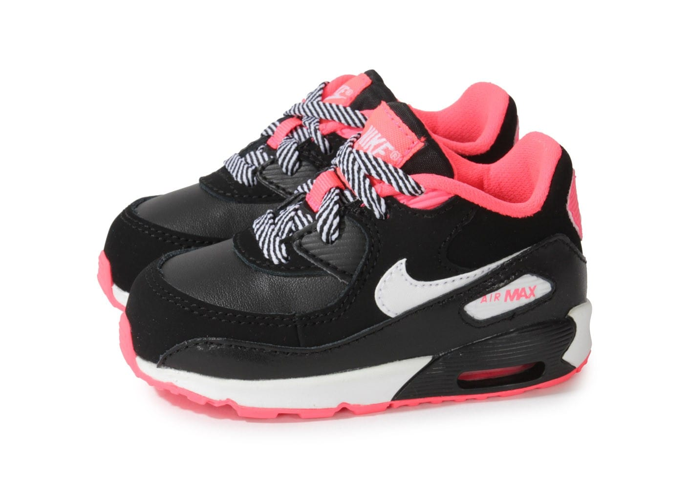 nike air max 90 b b noire et rose chaussures chaussures chausport. Black Bedroom Furniture Sets. Home Design Ideas