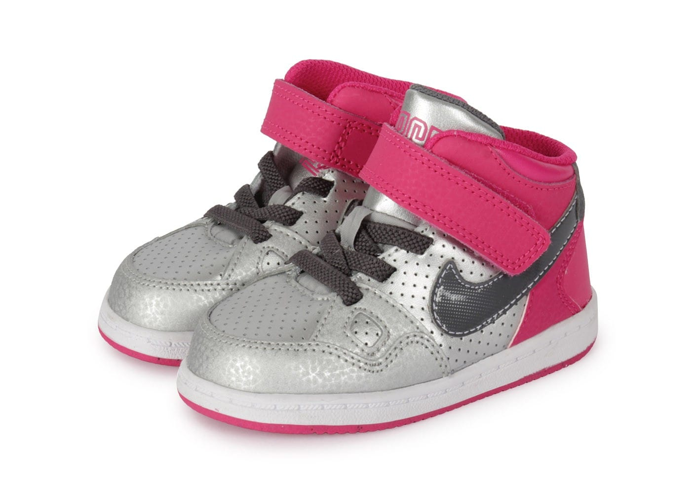 nike son of force b b argent e rose chaussures chaussures chausport. Black Bedroom Furniture Sets. Home Design Ideas