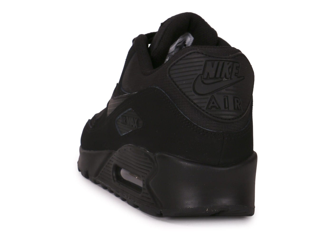 online store be818 6a567 ... chaussures nike air max 90 essential triple black vue arriere