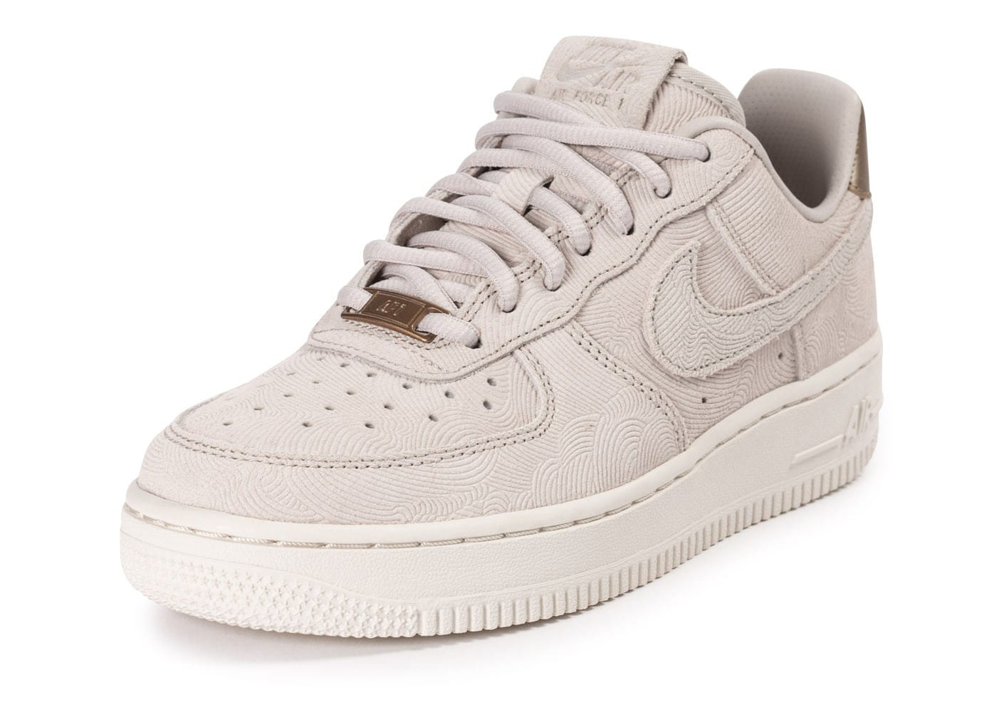 nike air force 1 premium suede gamma grey chaussures femme chausport. Black Bedroom Furniture Sets. Home Design Ideas