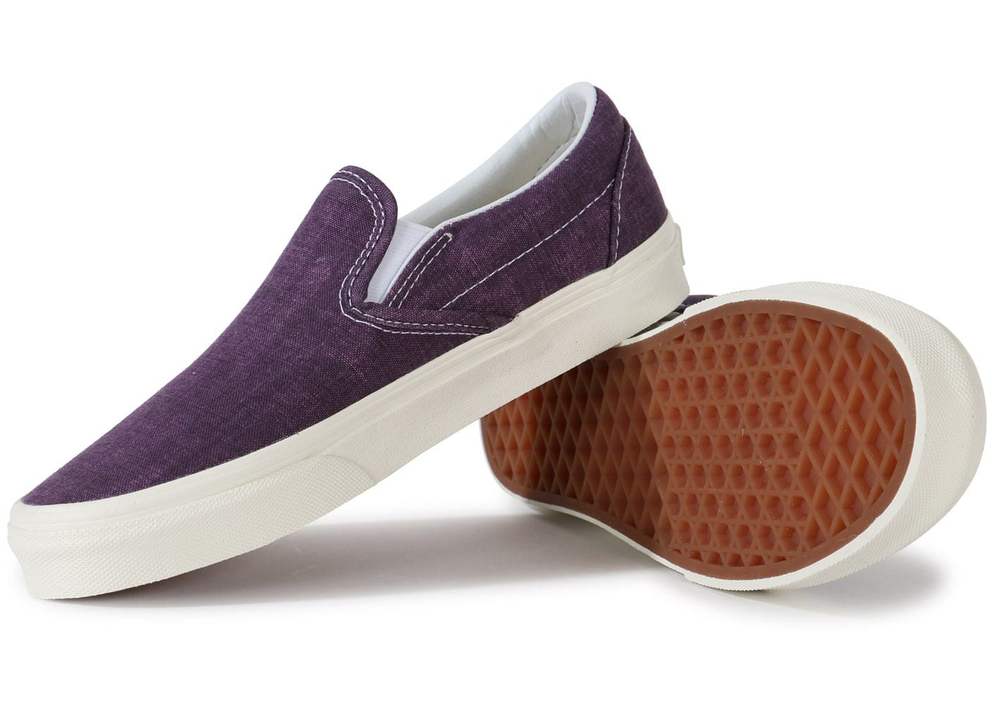 vans classic slip on mauve chaussures chaussures chausport. Black Bedroom Furniture Sets. Home Design Ideas