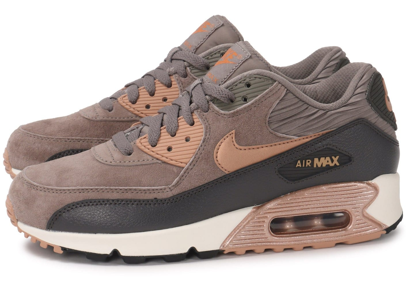 nike air max 90 ltr iron metallic bronze chaussures. Black Bedroom Furniture Sets. Home Design Ideas