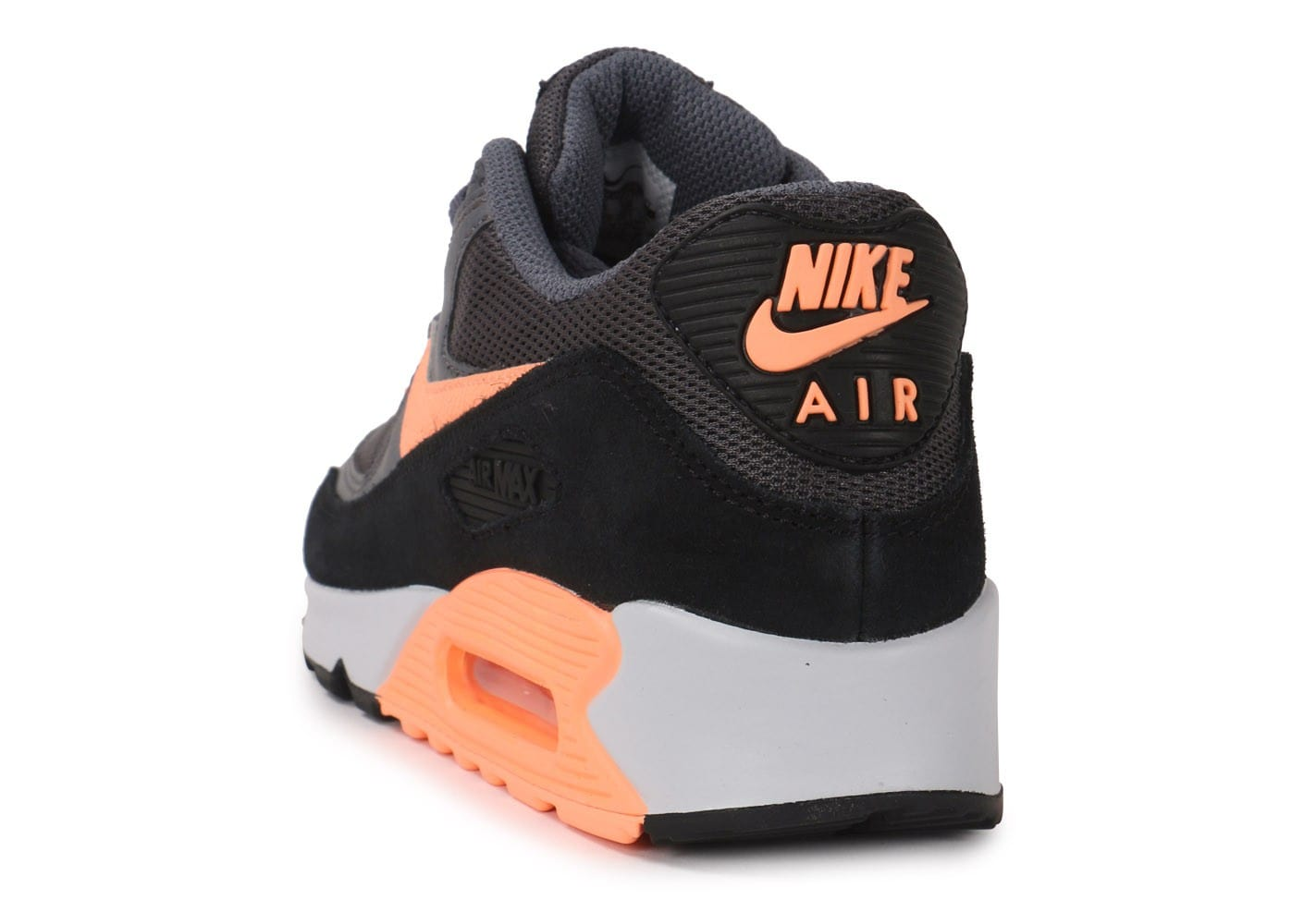 Nike Air Max 90 Essential Grise Et Orange