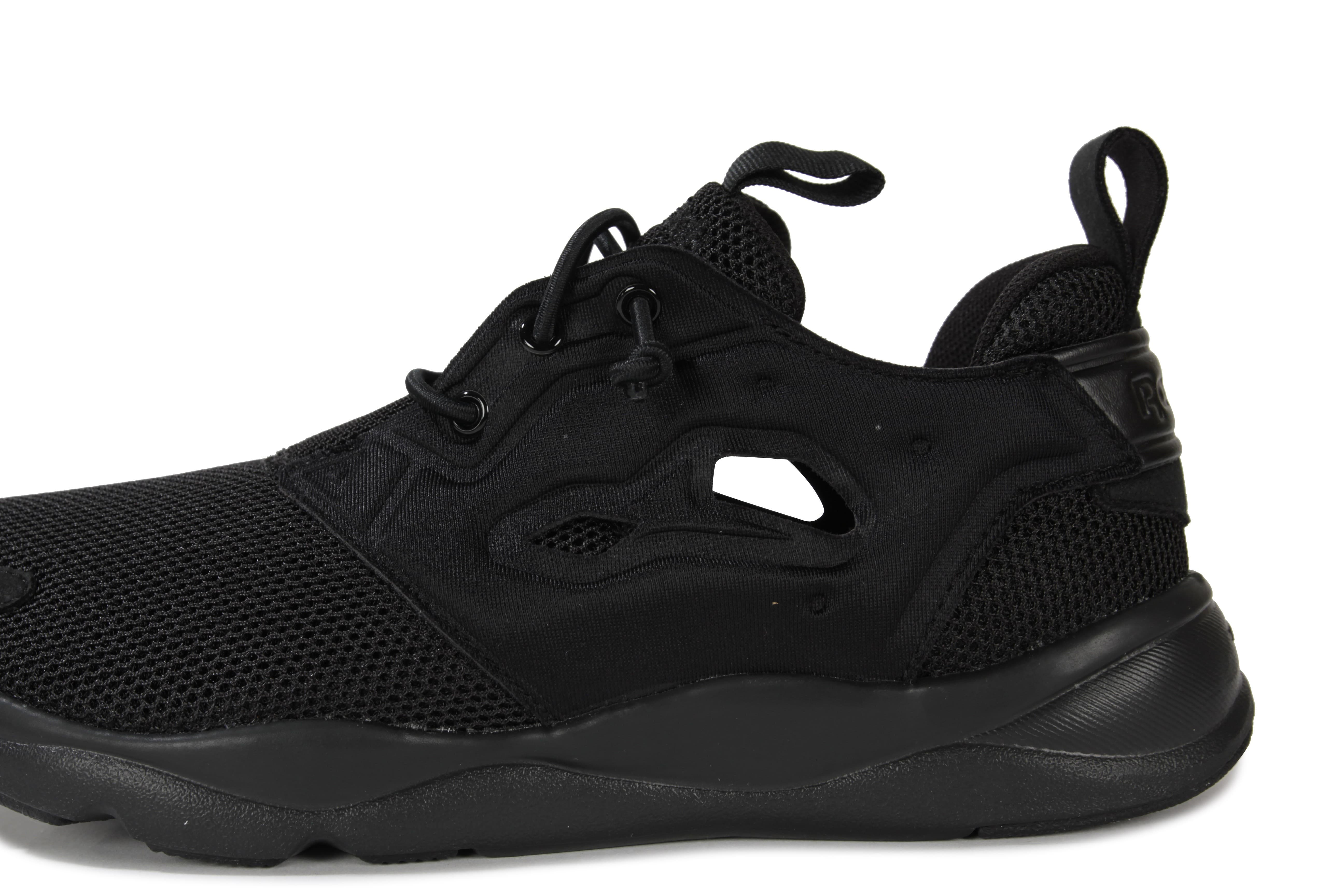 reebok furylite noir chaussures chaussures chausport. Black Bedroom Furniture Sets. Home Design Ideas