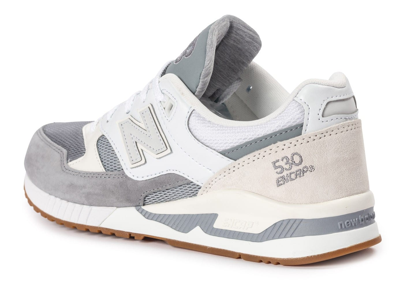 New Balance Blanche Grise