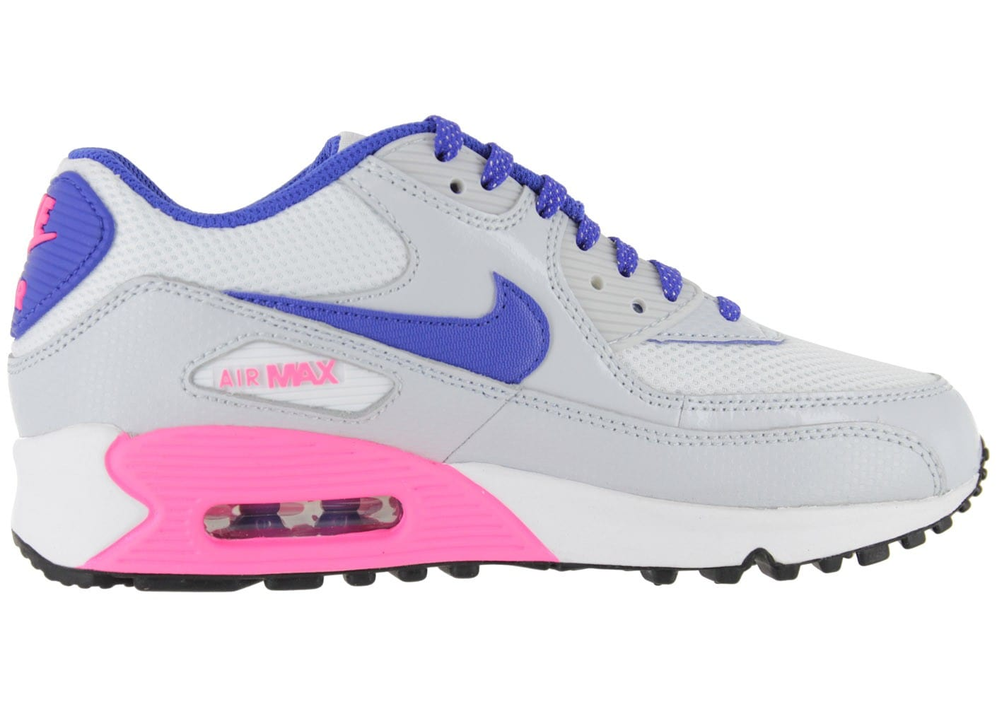nike air max 90 junior grise chaussures chaussures chausport. Black Bedroom Furniture Sets. Home Design Ideas