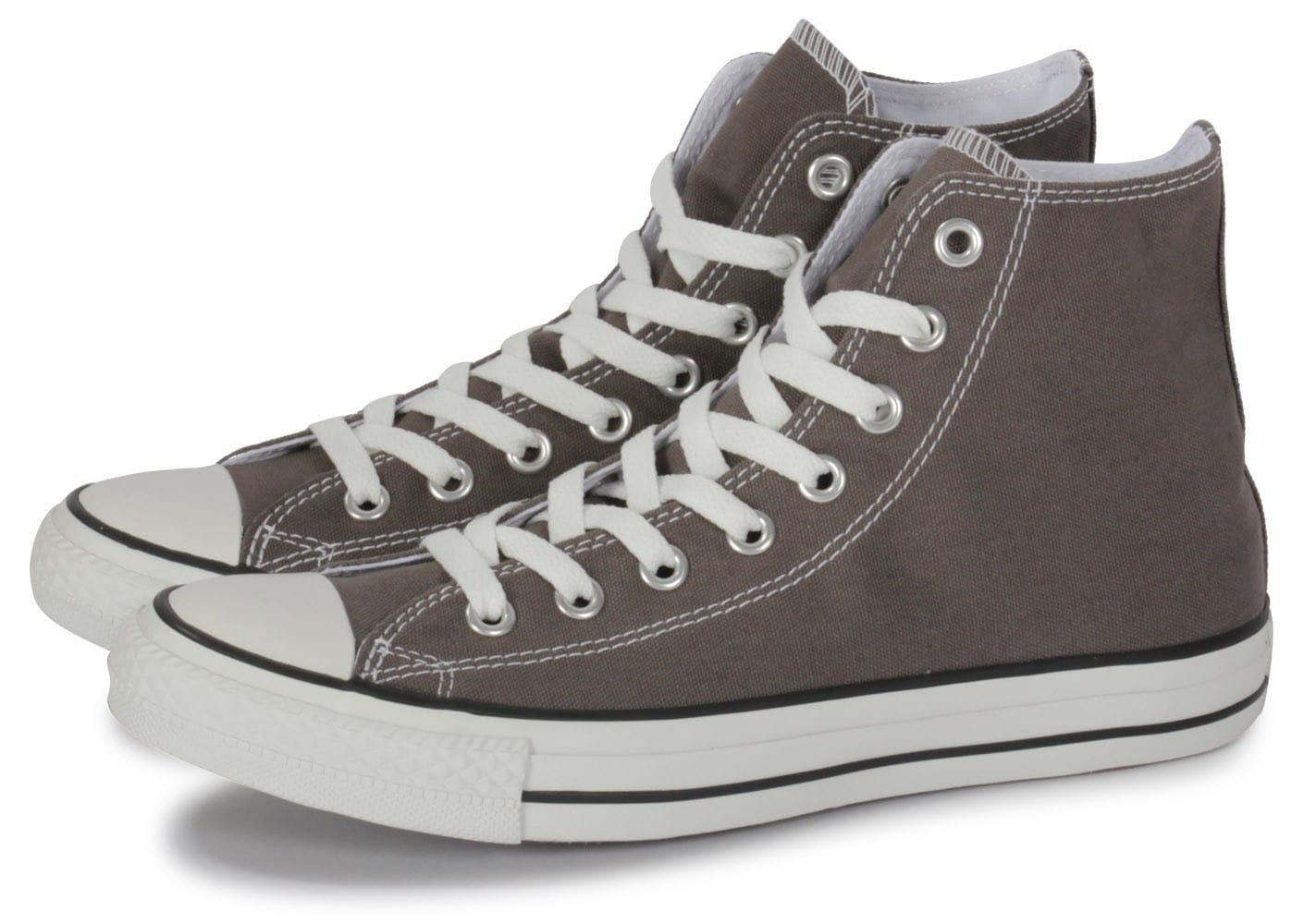 converse chuck taylor all star hi grise chaussures homme chausport. Black Bedroom Furniture Sets. Home Design Ideas