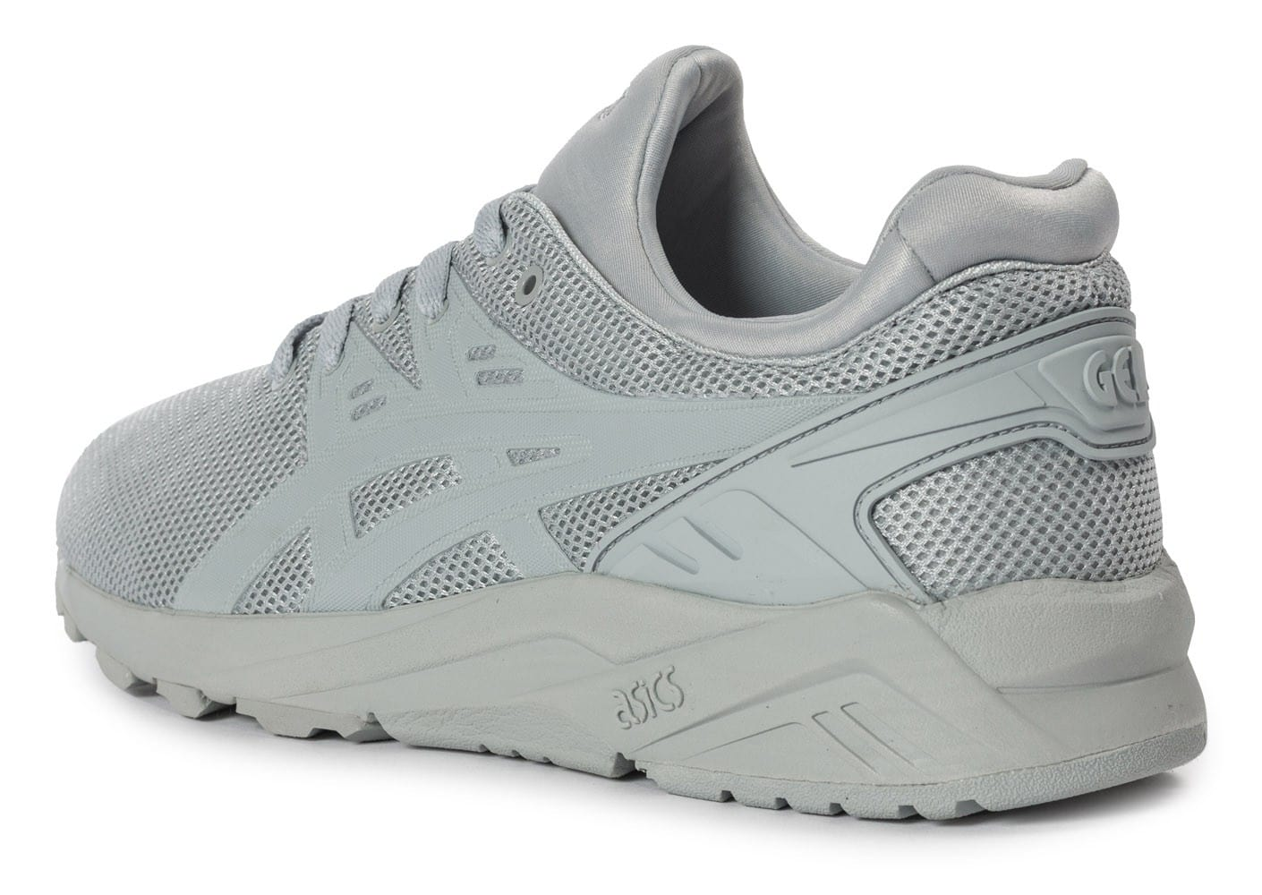 ... Chaussures Asics Gel Kayano Trainer Evo grise vue arrière ...