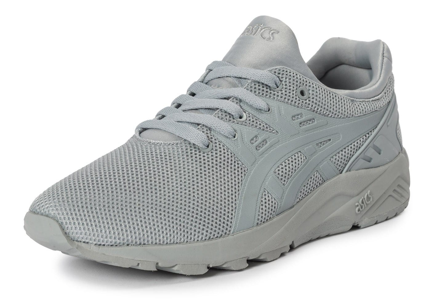 ... Chaussures Asics Gel Kayano Trainer Evo grise vue avant ...