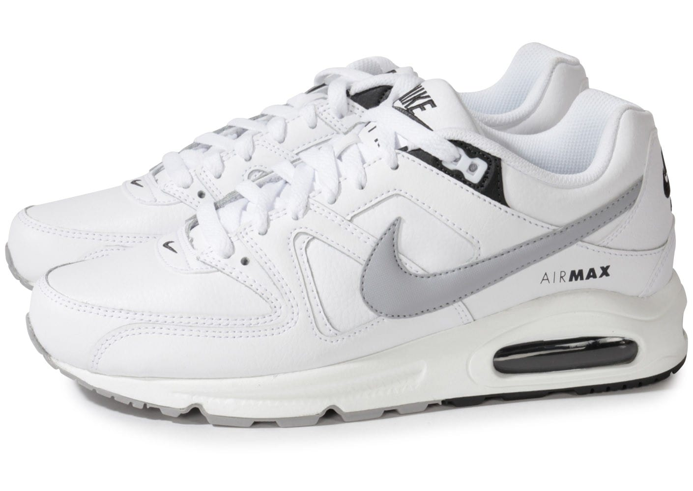 nike air max command blanche chaussures homme chausport. Black Bedroom Furniture Sets. Home Design Ideas
