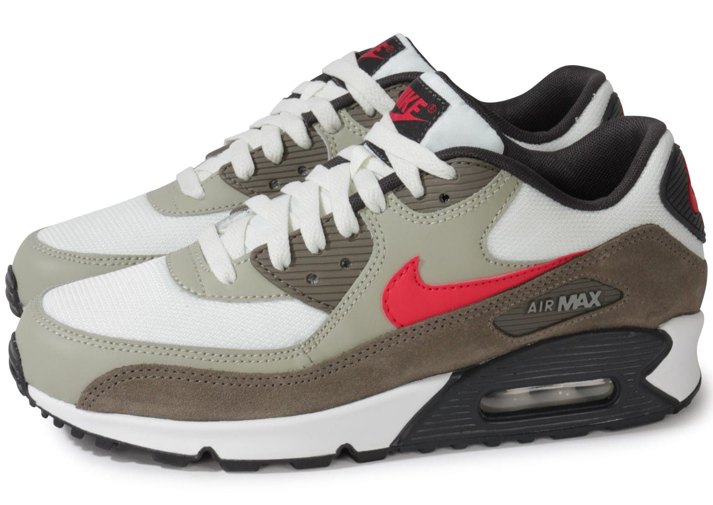 Nike Air Max 90 Rouge Et Grise