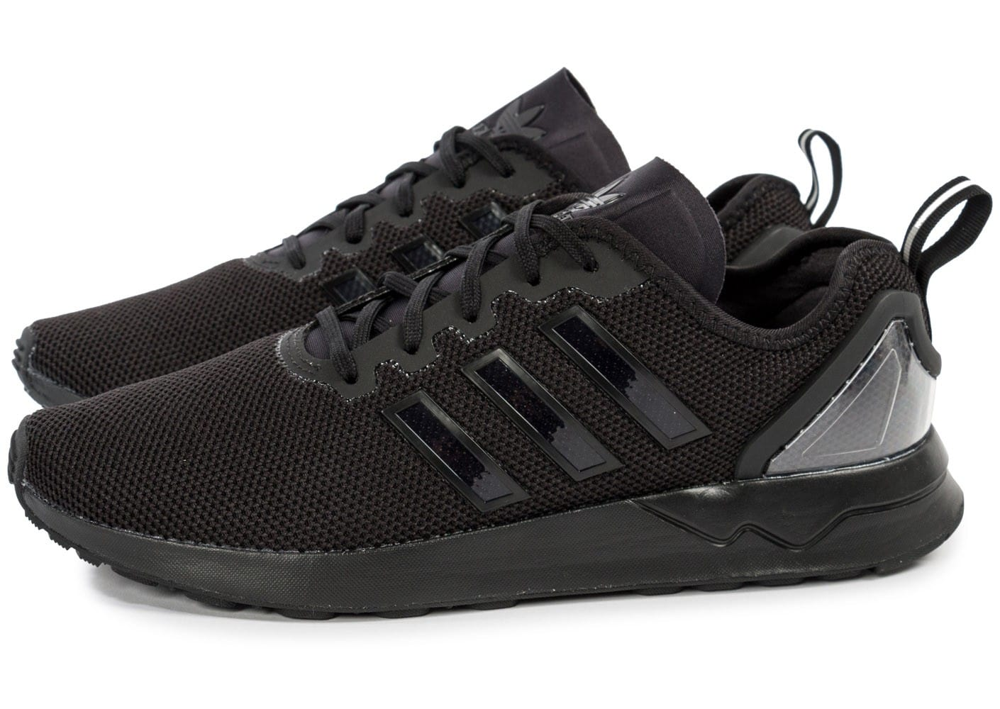 adidas zx flux adv racer noire chaussures homme chausport. Black Bedroom Furniture Sets. Home Design Ideas
