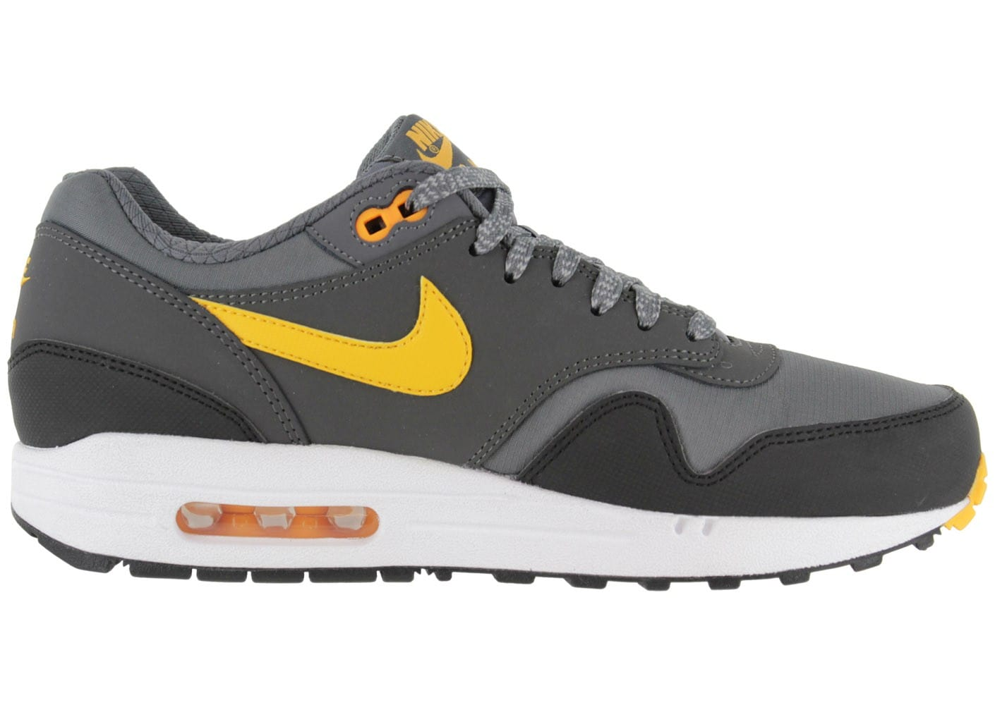 nike air max 1 premium grise chaussures homme chausport. Black Bedroom Furniture Sets. Home Design Ideas