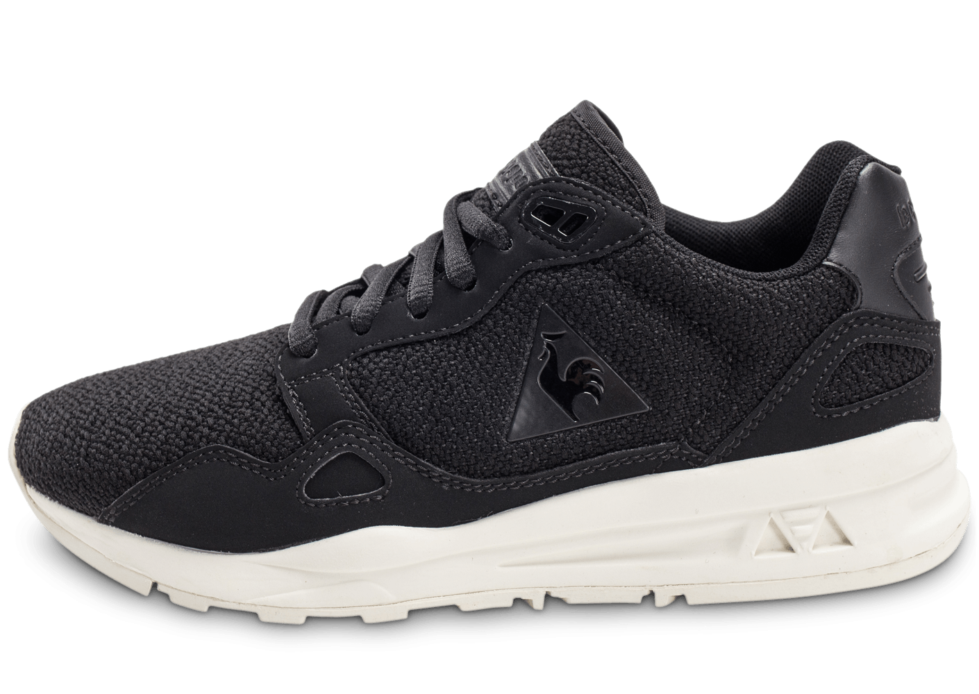 le coq sportif lcs r900 w wool mesh noire chaussures chaussures chausport. Black Bedroom Furniture Sets. Home Design Ideas