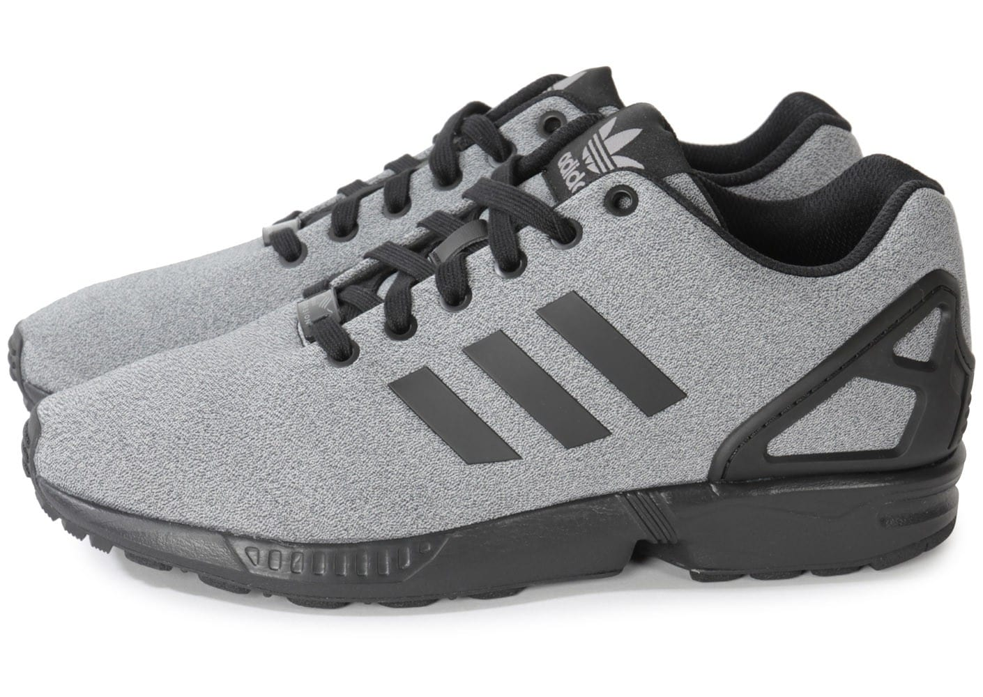 adidas zx flux jersey gris chaussures homme chausport. Black Bedroom Furniture Sets. Home Design Ideas