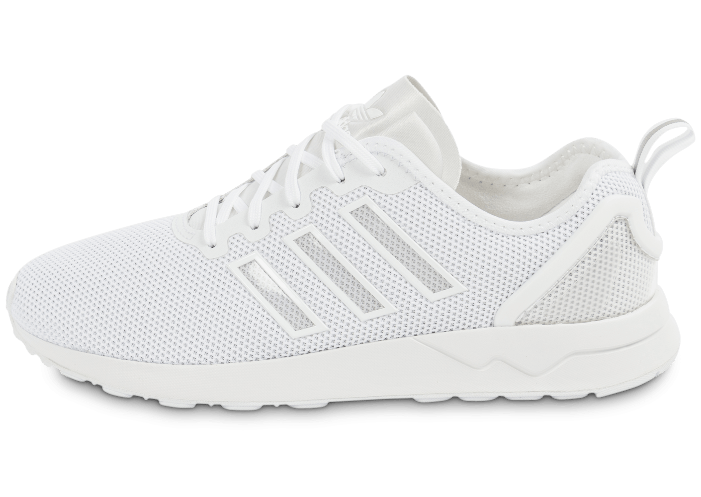 adidas zx flux adv racer blanche chaussures homme chausport. Black Bedroom Furniture Sets. Home Design Ideas