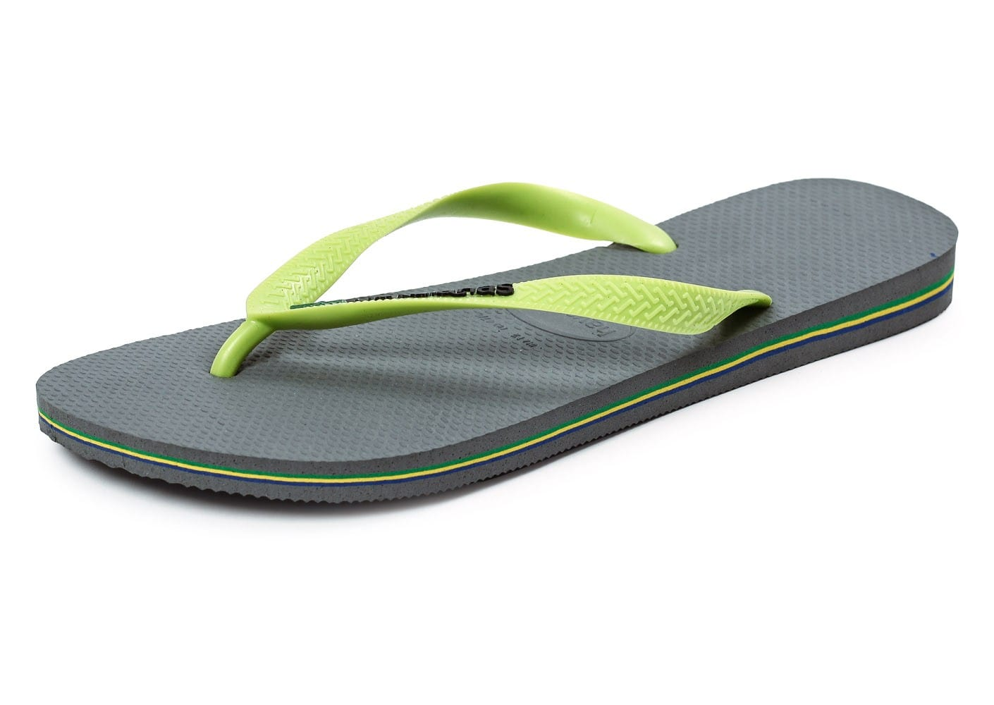 havaianas tongs brasil logo grise chaussures homme chausport. Black Bedroom Furniture Sets. Home Design Ideas