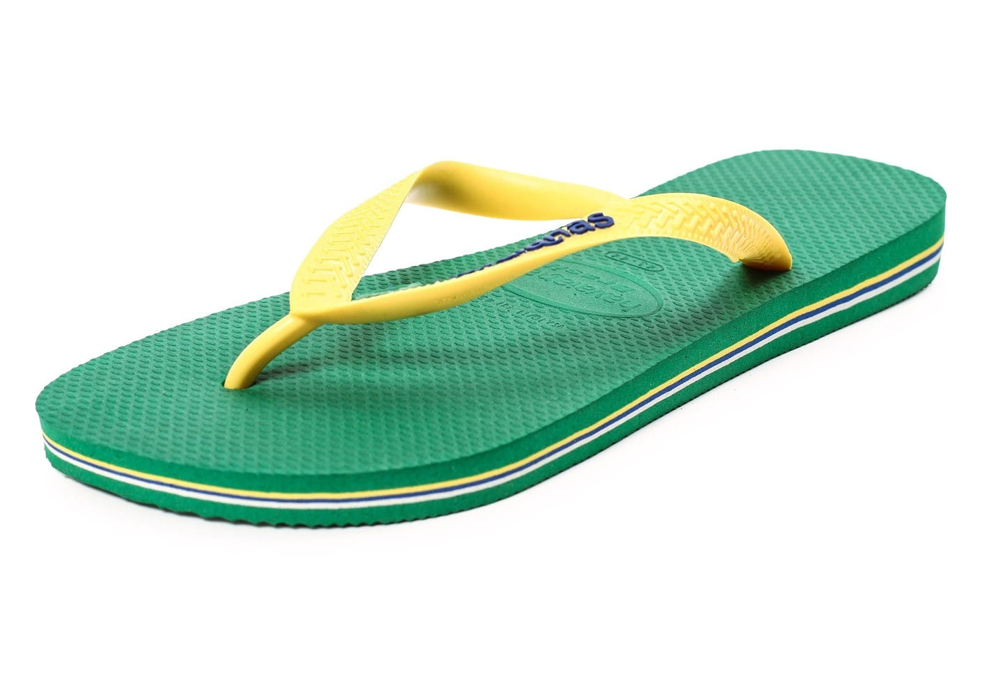 havaianas tongs brasil logo verte chaussures homme chausport. Black Bedroom Furniture Sets. Home Design Ideas