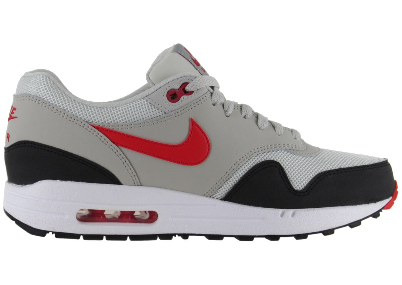 nike air max 1 essential blanche chaussures homme chausport. Black Bedroom Furniture Sets. Home Design Ideas