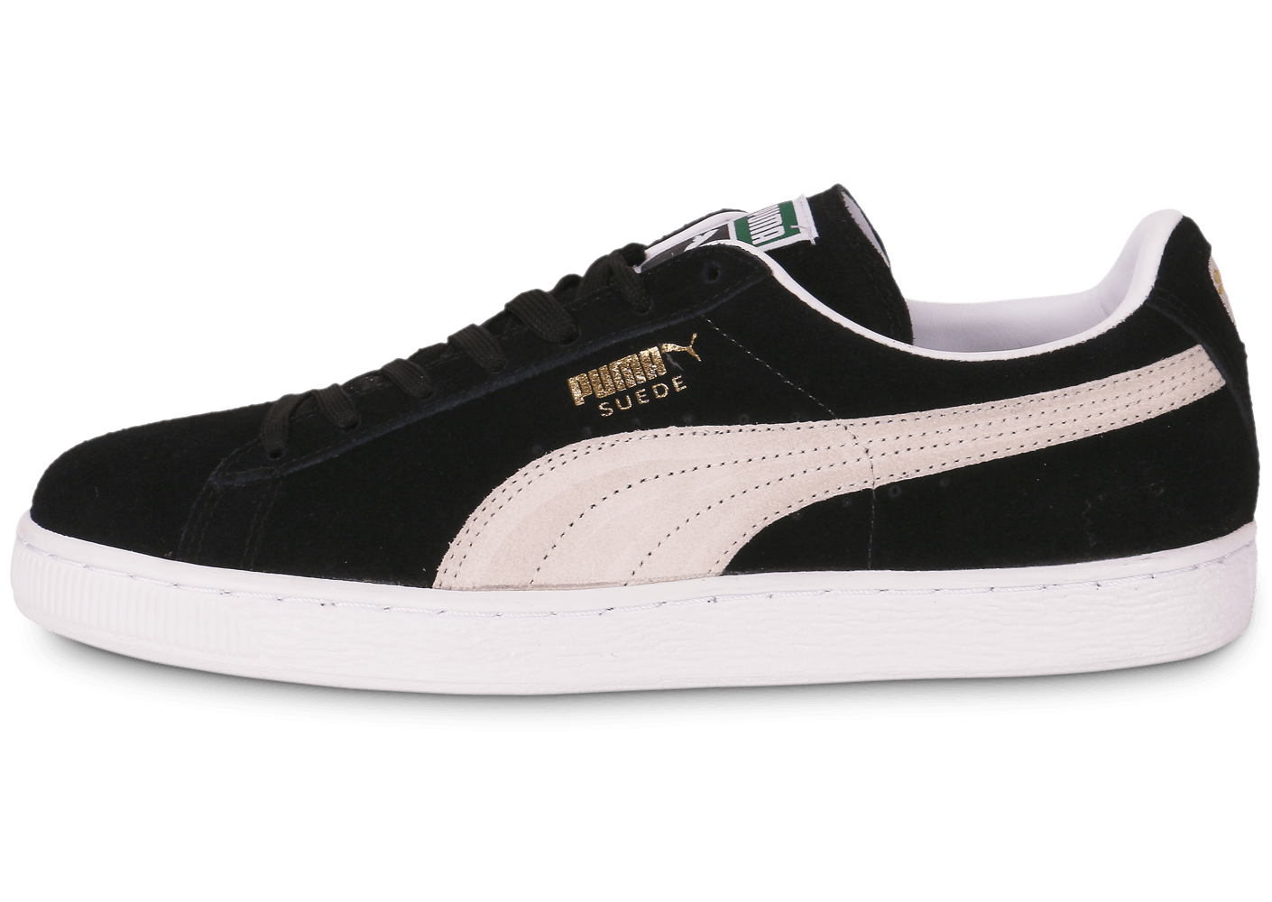 puma suede classic noire chaussures homme chausport. Black Bedroom Furniture Sets. Home Design Ideas