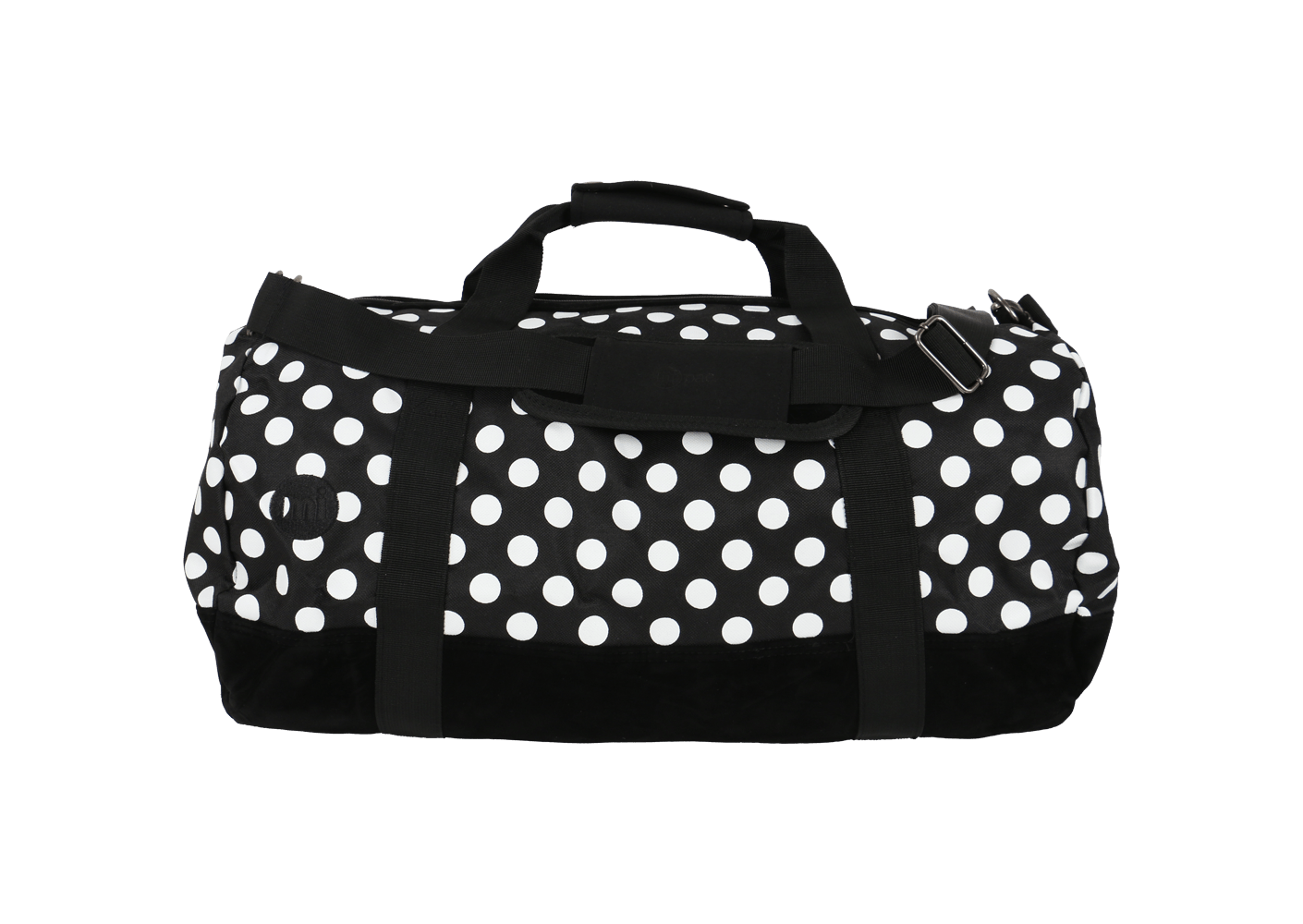 mi pac sac voyage duffel polka black friday chausport. Black Bedroom Furniture Sets. Home Design Ideas