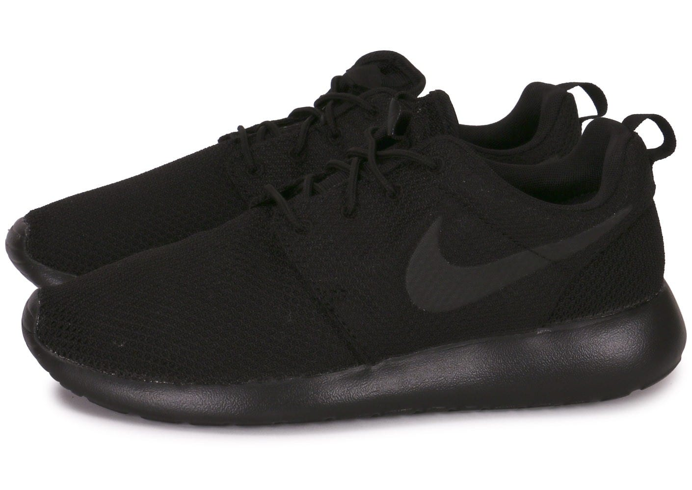 nike roshe one triple black chaussures homme chausport. Black Bedroom Furniture Sets. Home Design Ideas