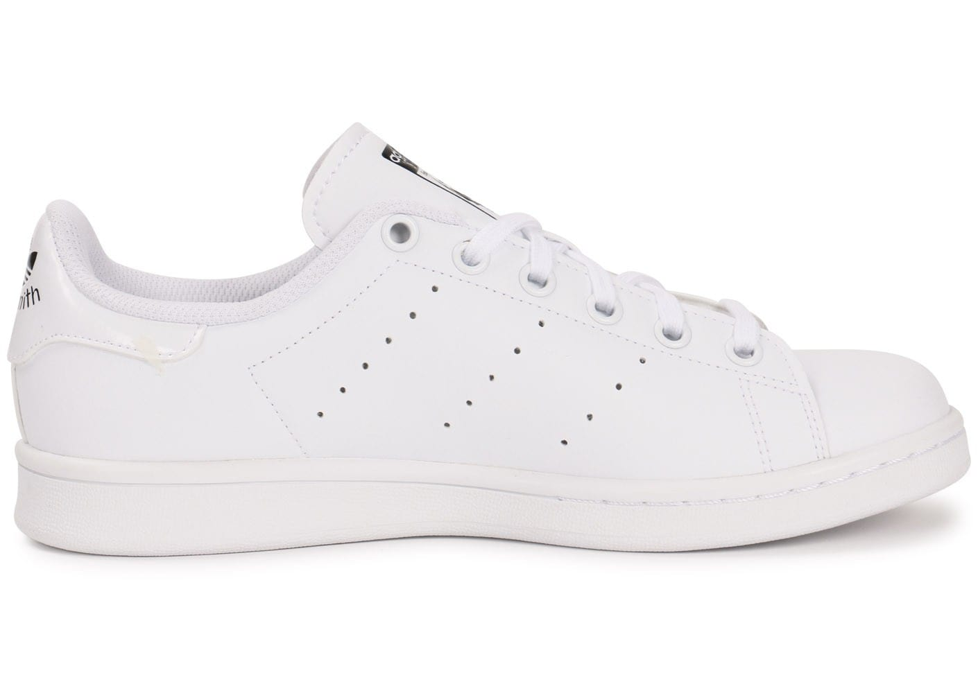 ... Chaussures adidas Stan Smith Junior Blanche vue dessous ...