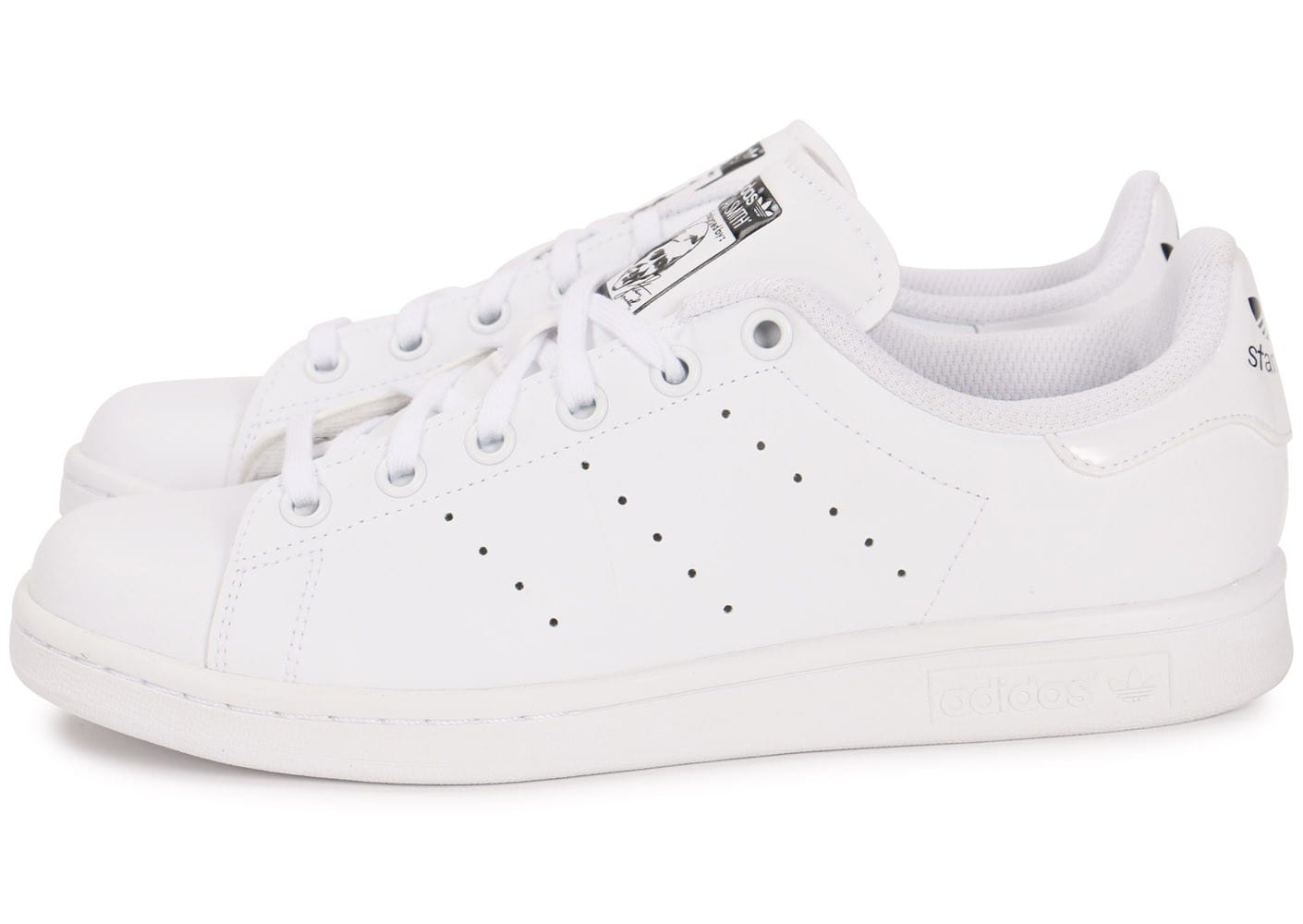 adidas stan smith junior blanche chaussures adidas chausport. Black Bedroom Furniture Sets. Home Design Ideas