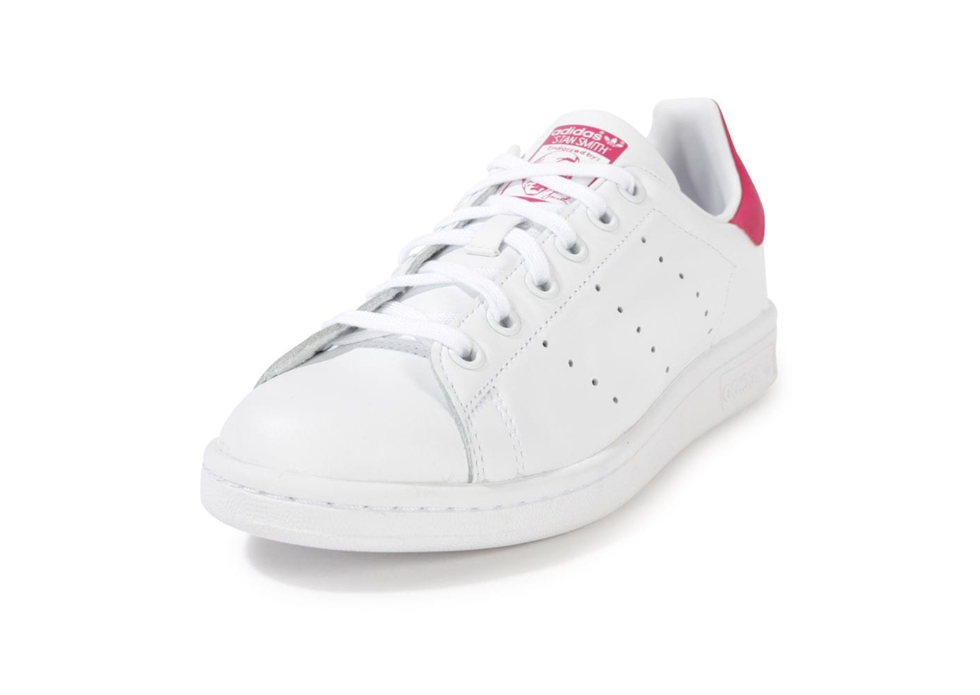 adidas stan smith blanche et rose