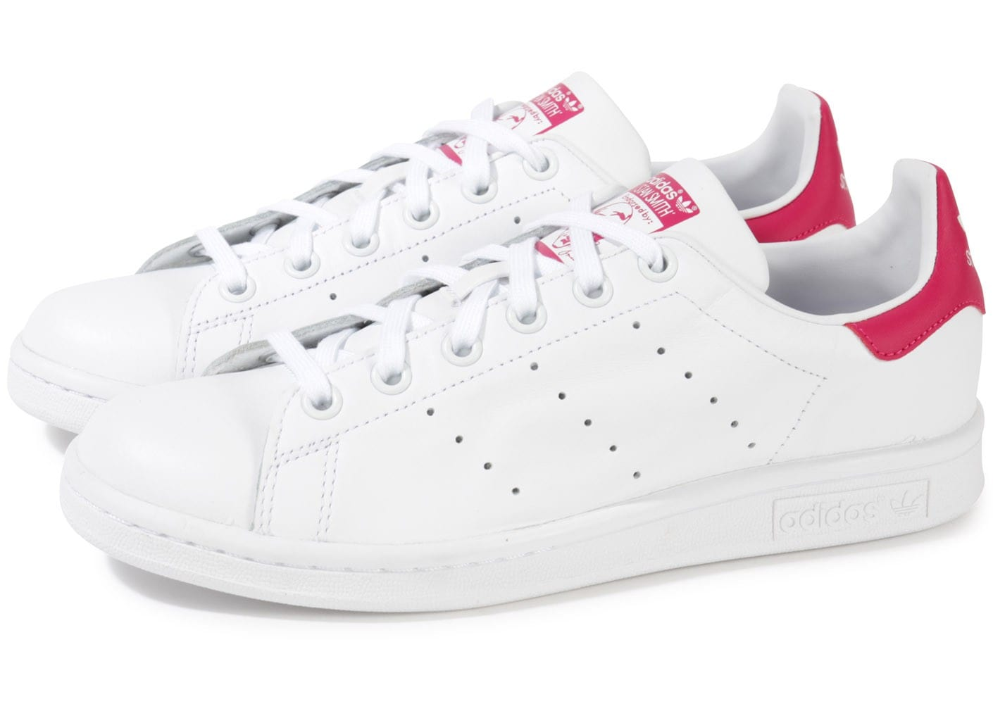 basket adidas stan smith femme rose