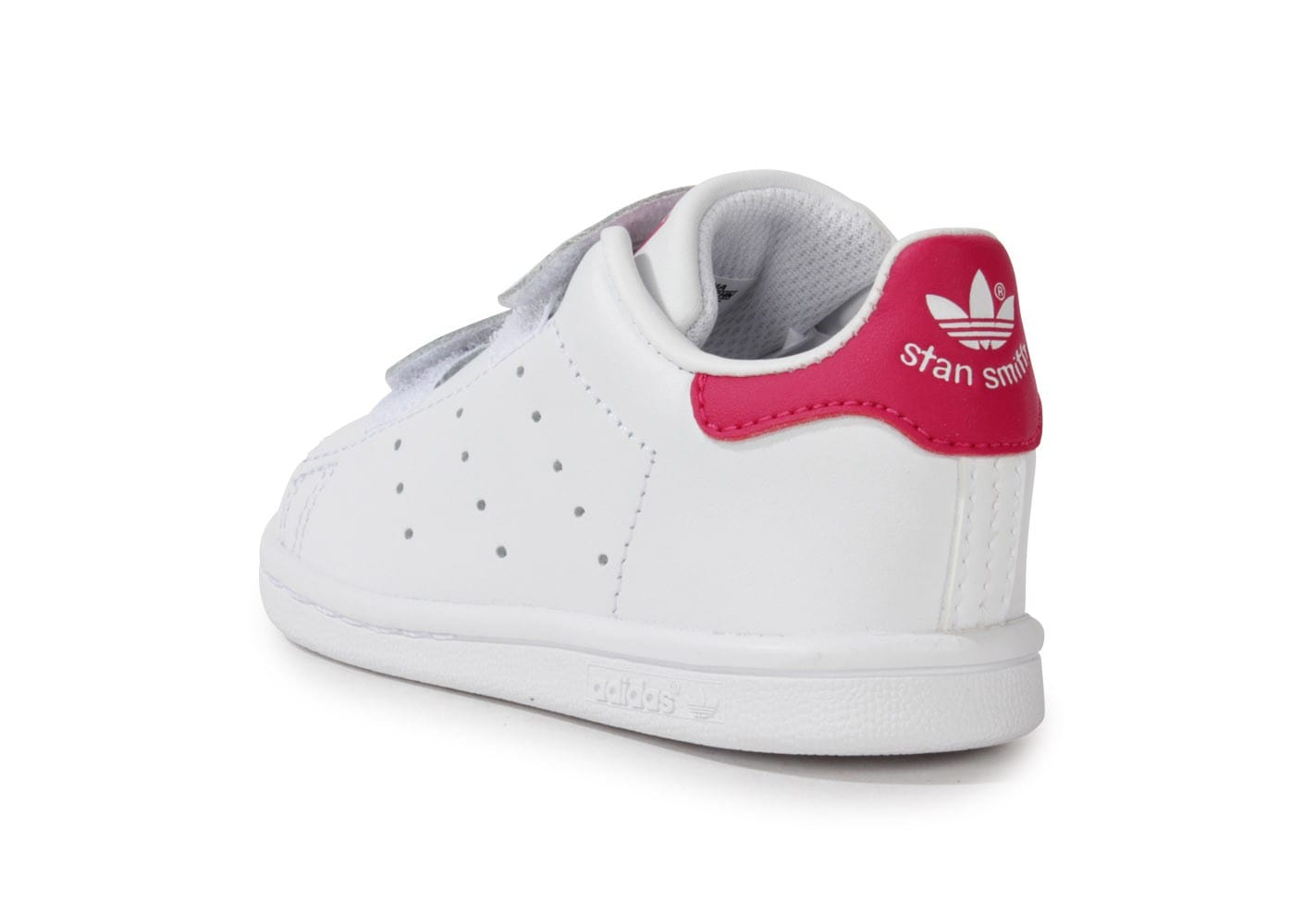 adidas stan smith blanche et rose b b chaussures adidas chausport. Black Bedroom Furniture Sets. Home Design Ideas