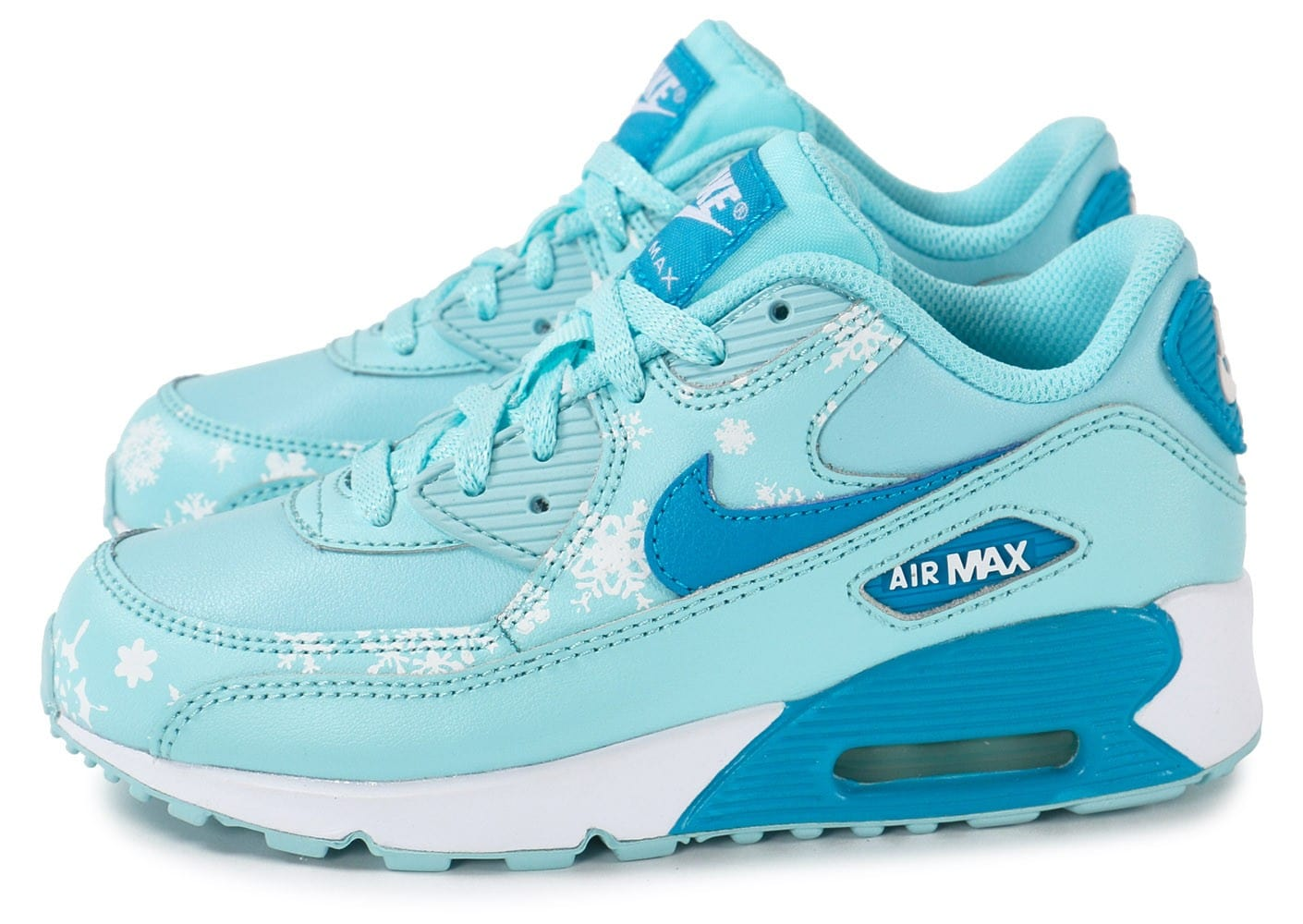 nike air max 90 snowflakes enfant chaussures chaussures chausport. Black Bedroom Furniture Sets. Home Design Ideas