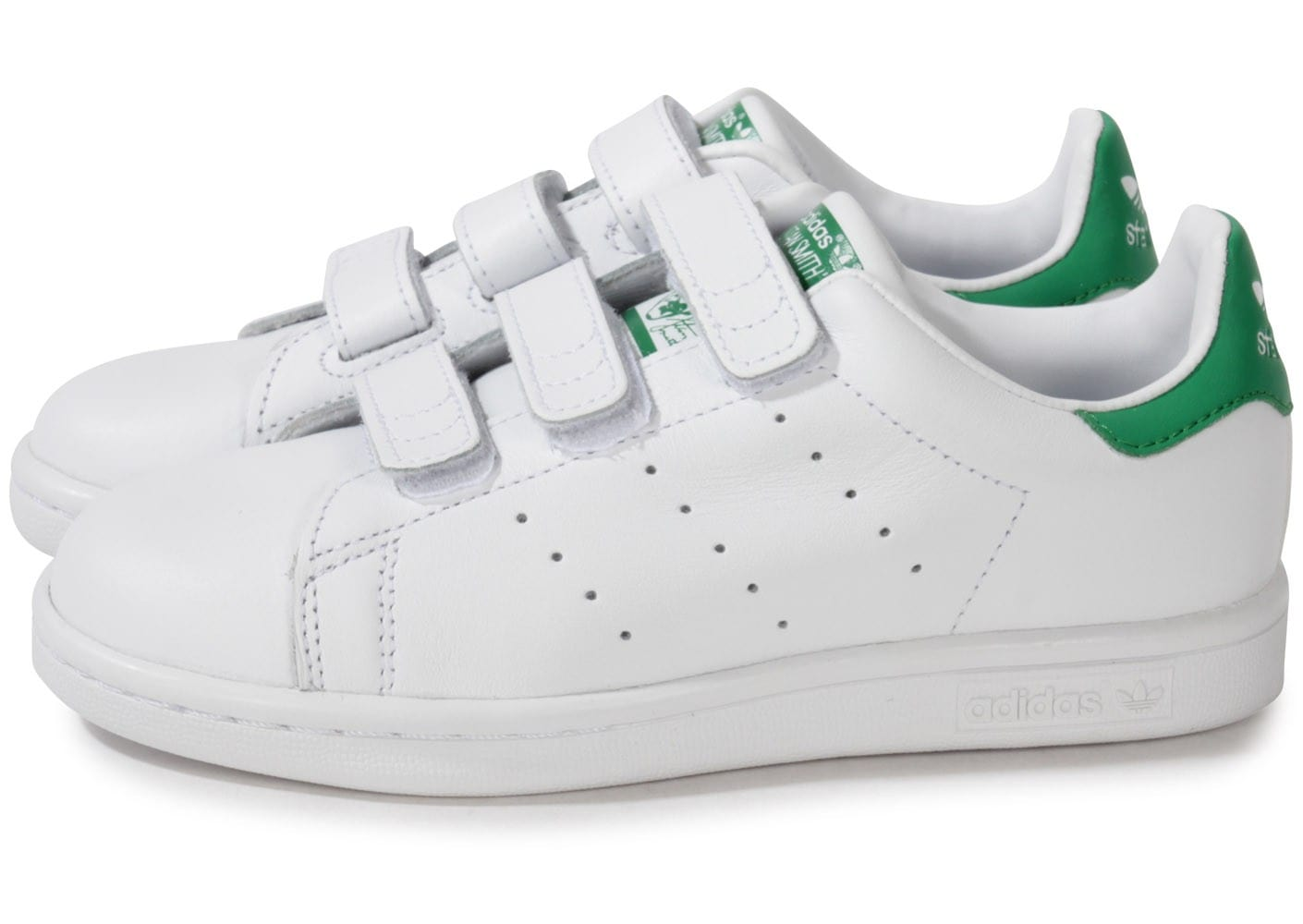 adidas stan smith verte blanche enfant chaussures adidas chausport. Black Bedroom Furniture Sets. Home Design Ideas