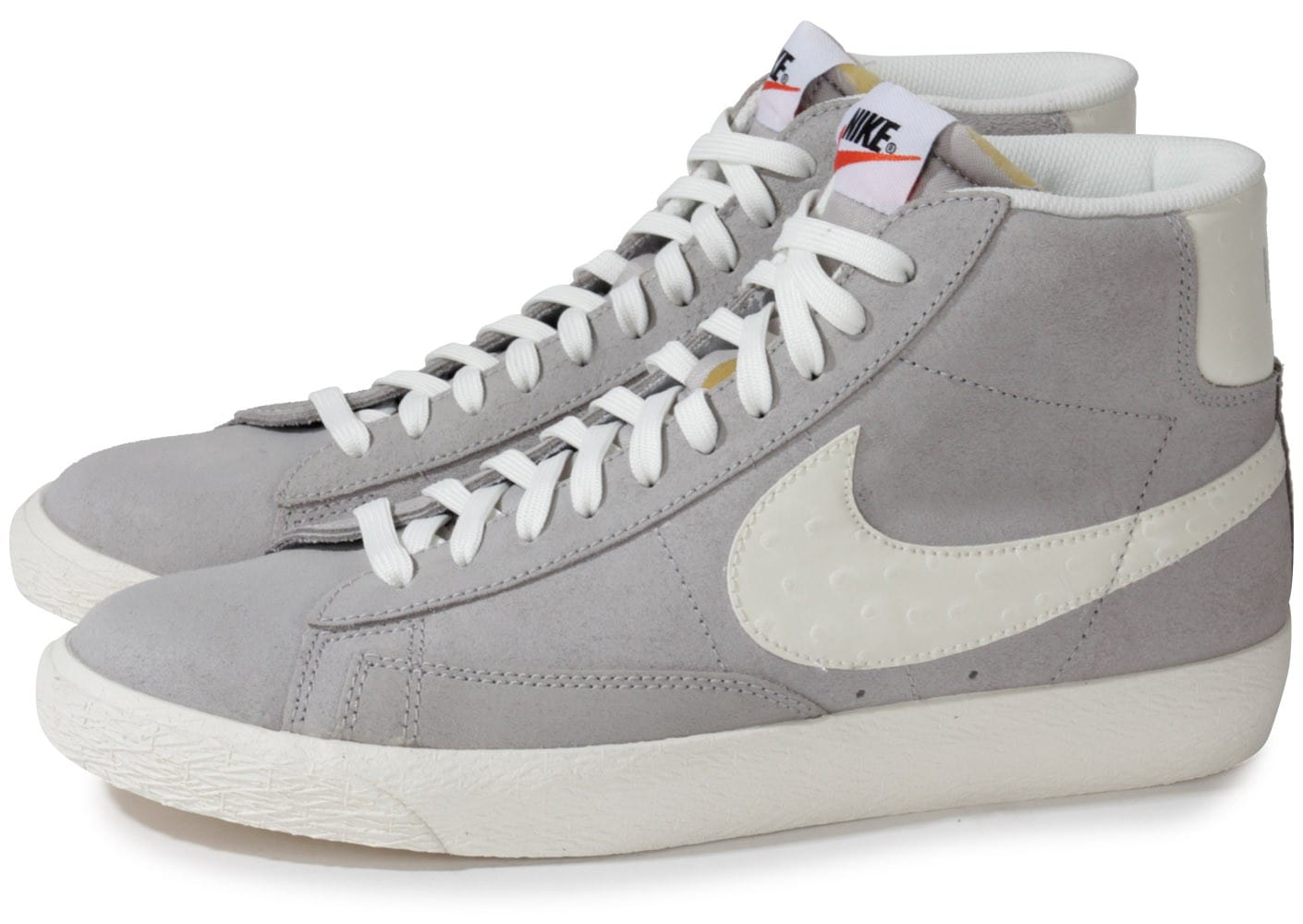 nike blazer mid grise chaussures homme chausport. Black Bedroom Furniture Sets. Home Design Ideas