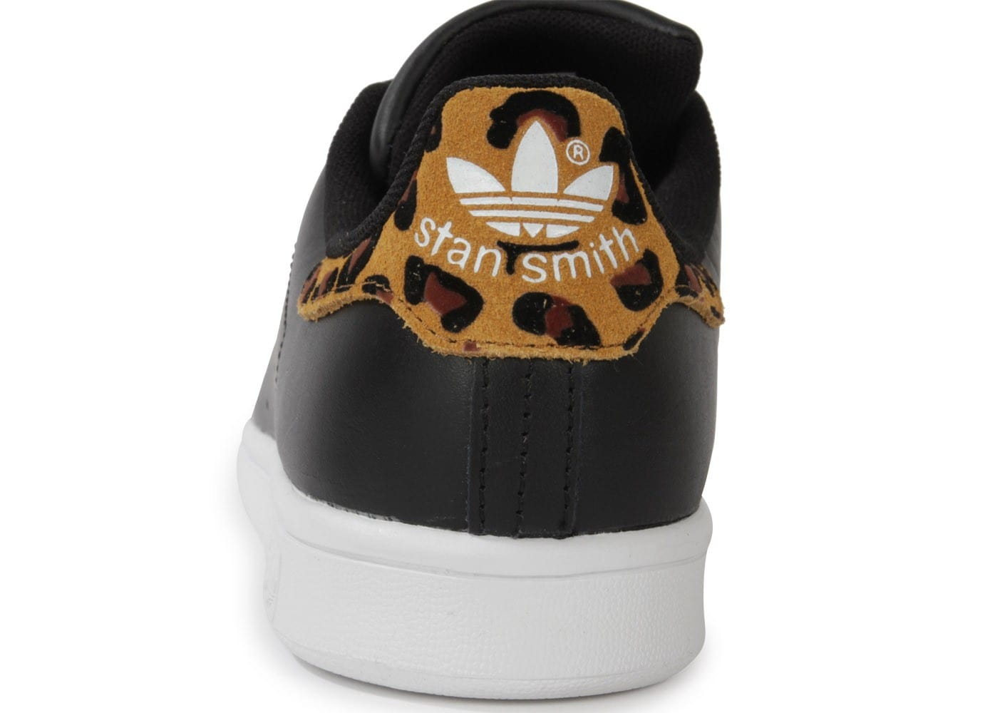 Stan Smith Noire Leopard