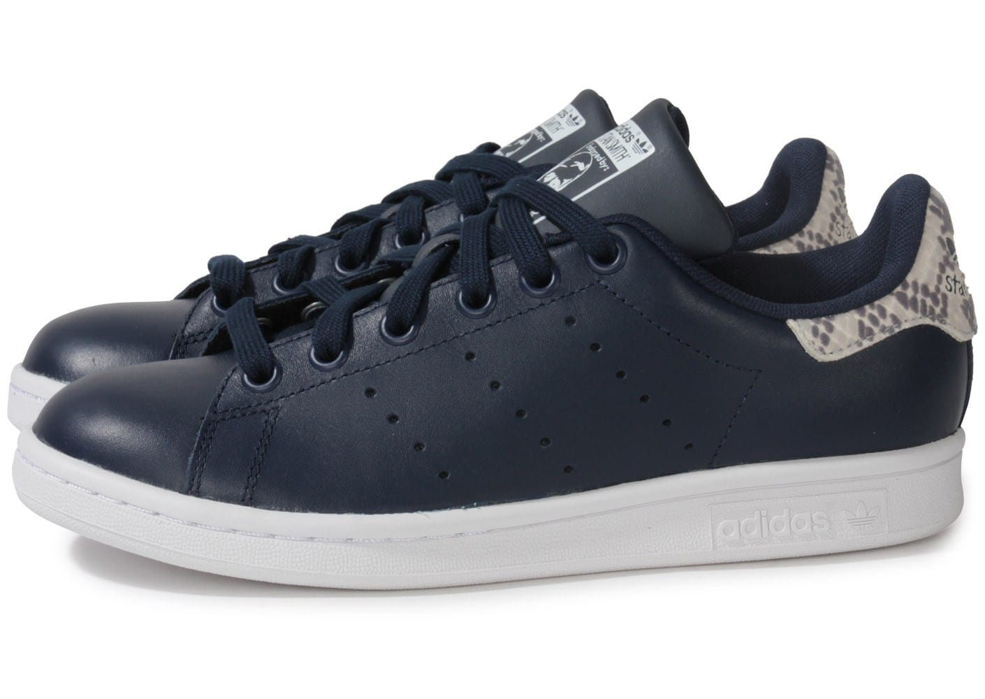 adidas stan smith bleu marine animal chaussures adidas chausport. Black Bedroom Furniture Sets. Home Design Ideas