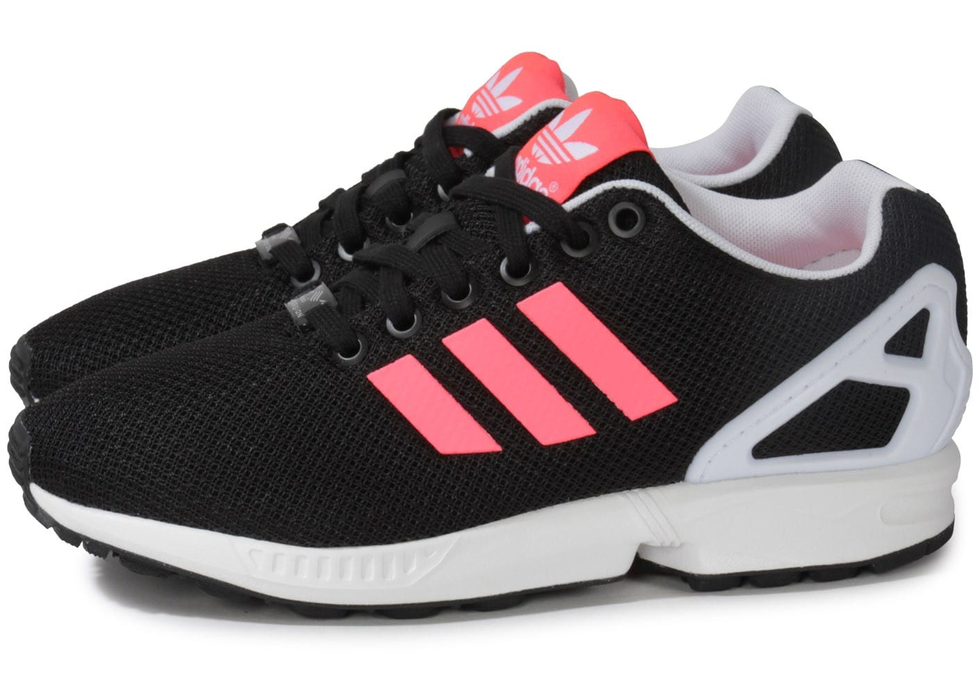 chaussure adidas zx flux rose