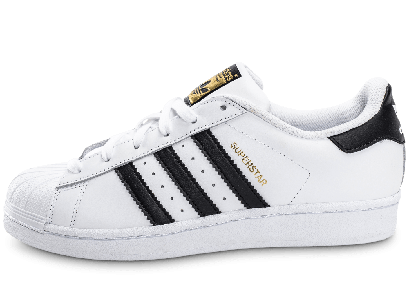 adidas superstar foundation junior blanc noir chaussures adidas chausport. Black Bedroom Furniture Sets. Home Design Ideas