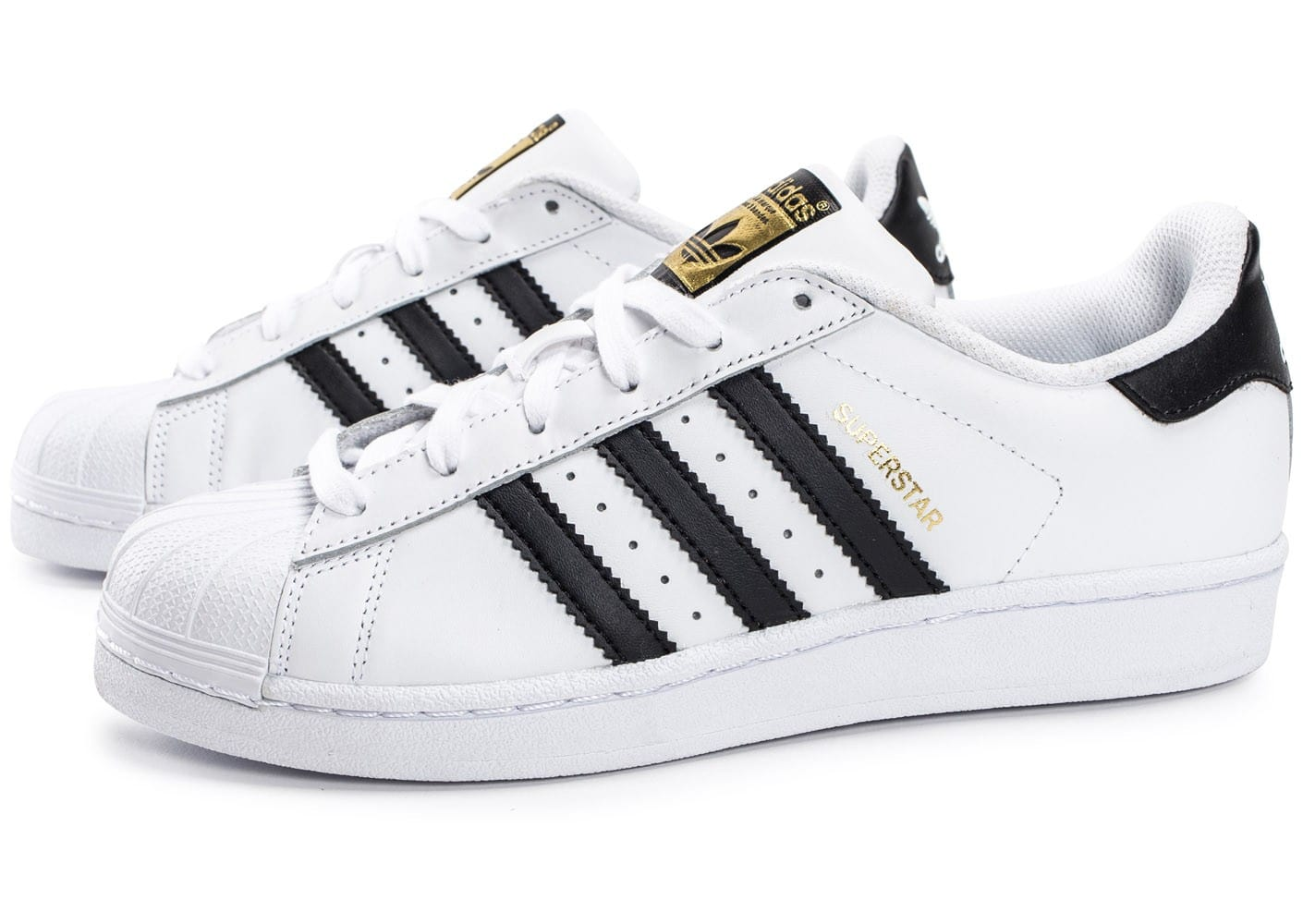 adidas superstar foundation junior blanc noir chaussures. Black Bedroom Furniture Sets. Home Design Ideas