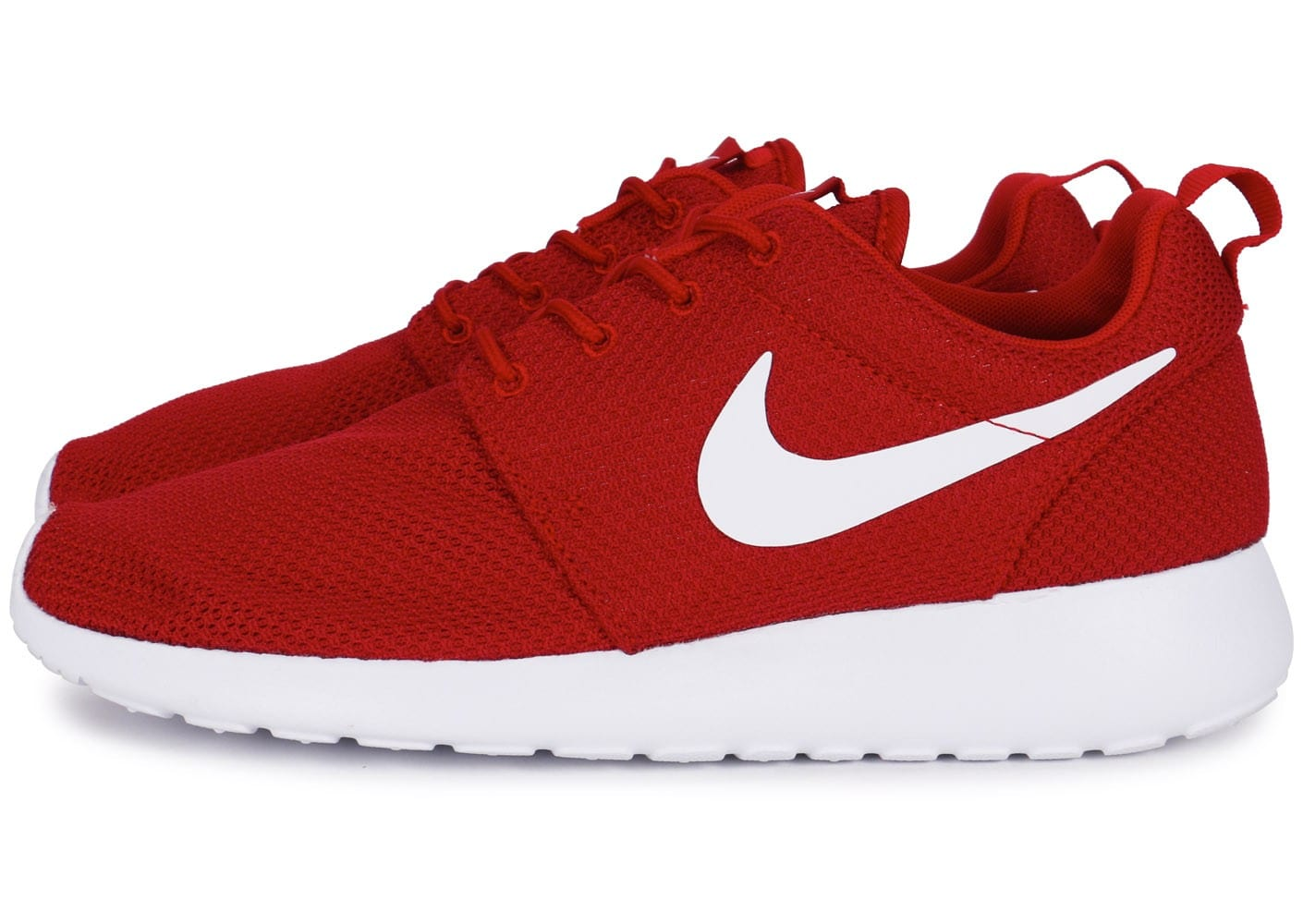 lowest price e6b69 f0989 nike roshe one rouge,Chaussures Nike Roshe One Rouge Et Blanc vue dessous