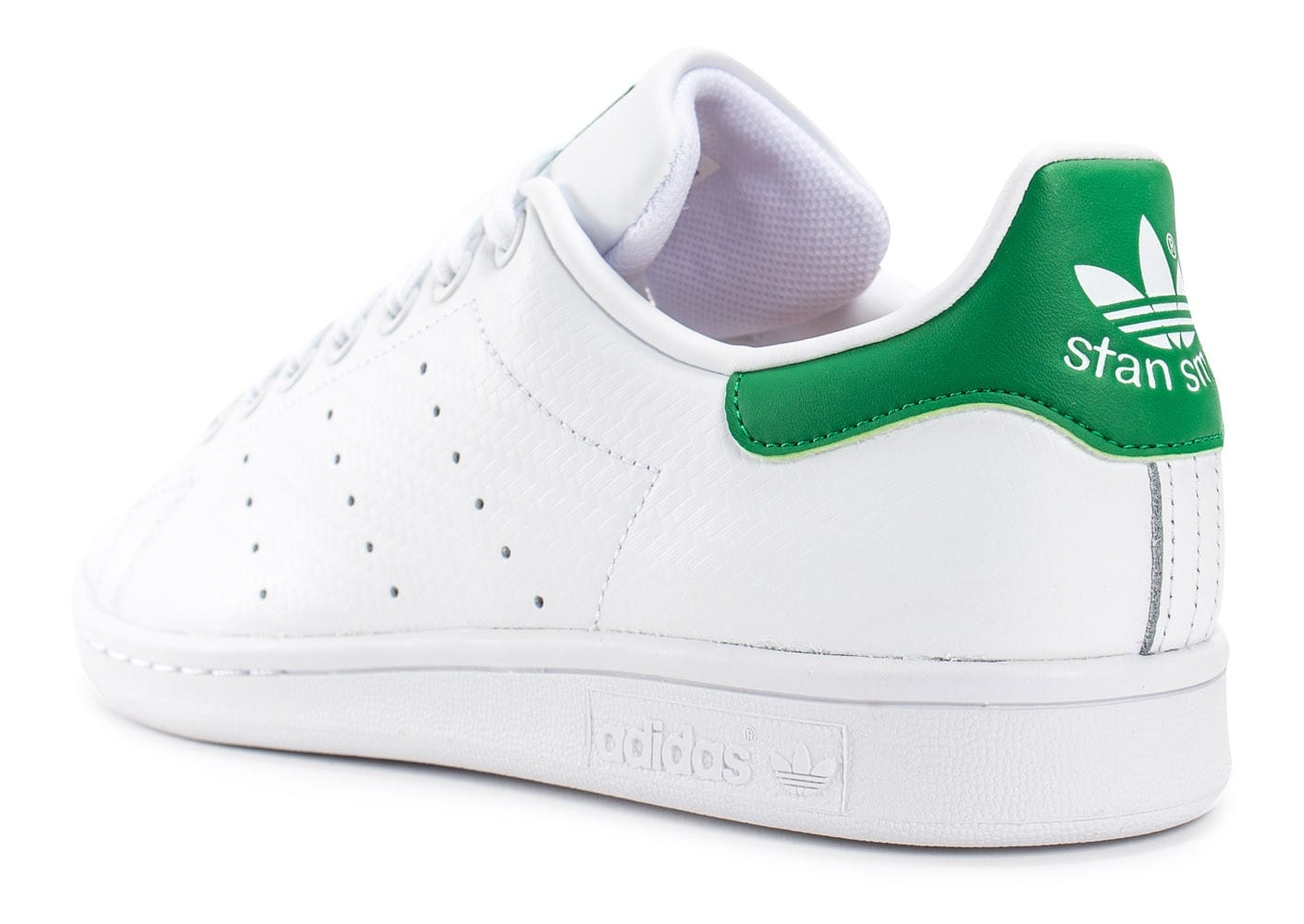 adidas stan smith woven blanche et verte chaussures homme chausport. Black Bedroom Furniture Sets. Home Design Ideas