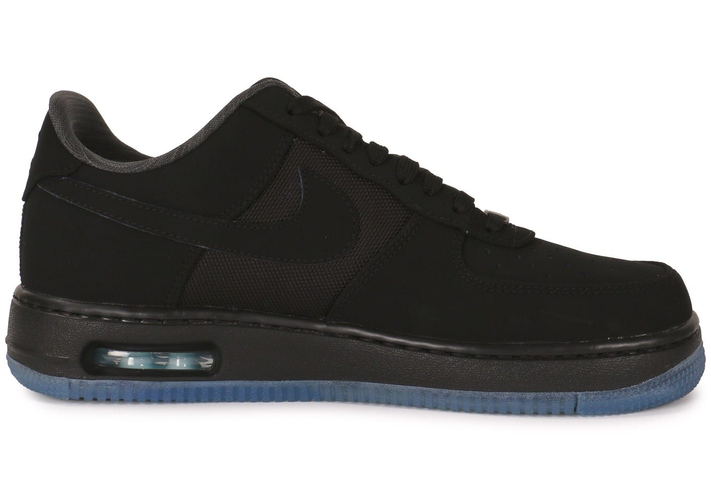 new arrival 73f6b 8f209 ... chaussures nike air force 1 elite noire vue interieure