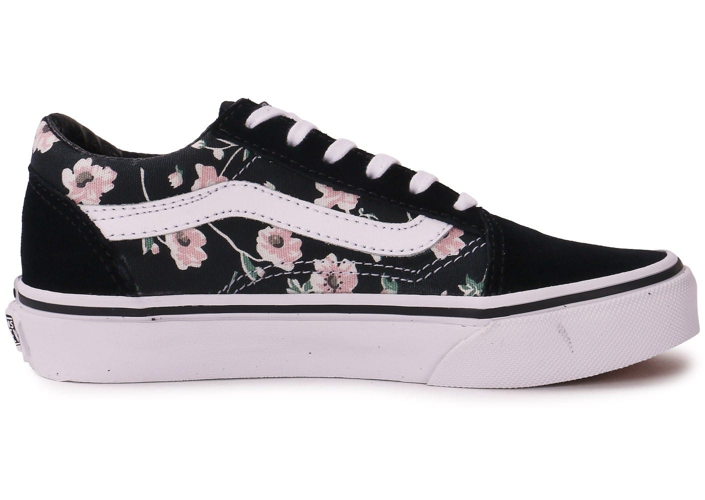 vans old skool enfant vintage floral chaussures chaussures chausport. Black Bedroom Furniture Sets. Home Design Ideas