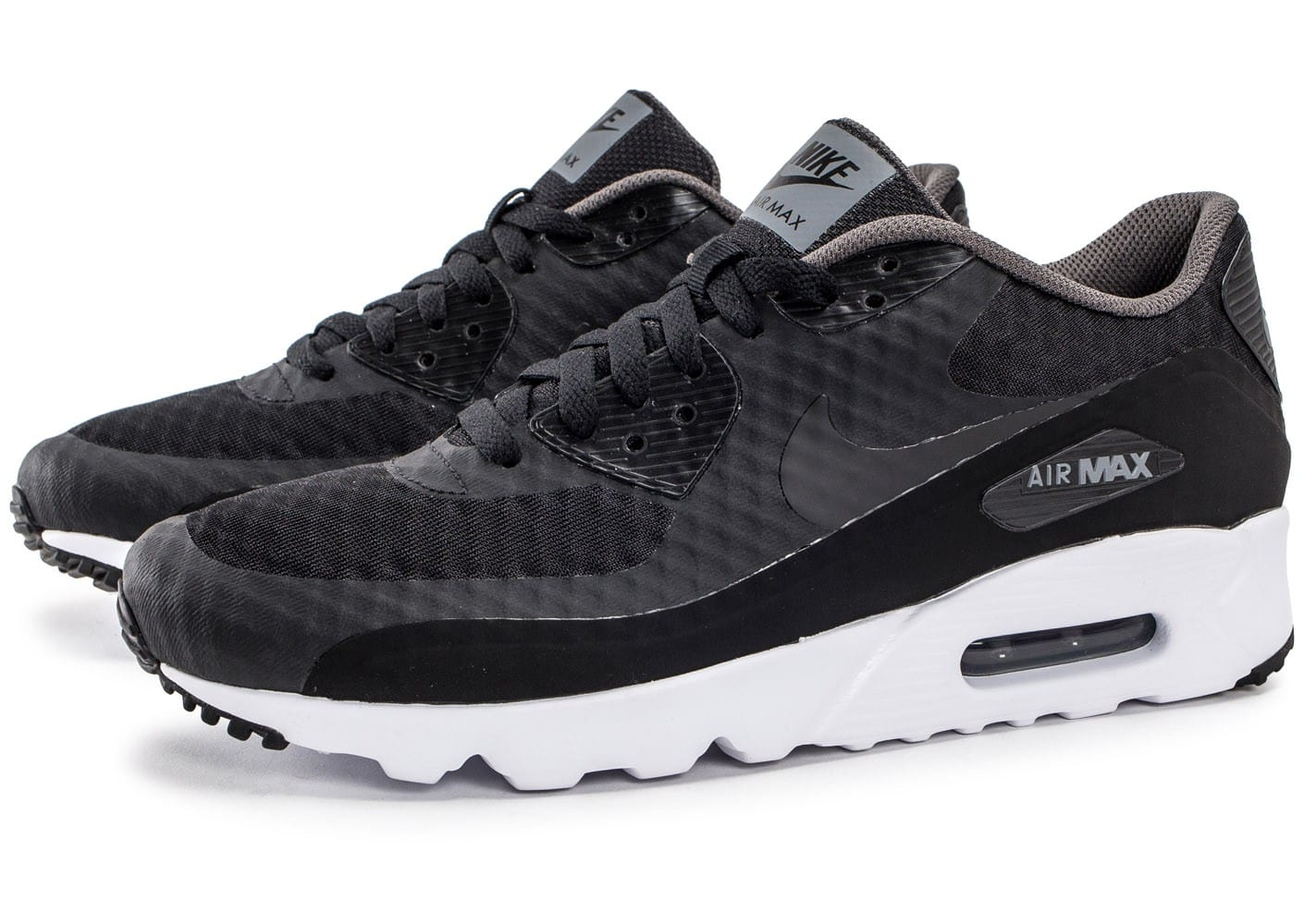 nike air max 90 ultra essential noire et grise chaussures homme chausport. Black Bedroom Furniture Sets. Home Design Ideas