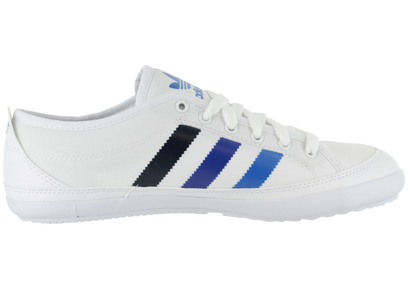adidas nizza blanche chaussures homme chausport. Black Bedroom Furniture Sets. Home Design Ideas