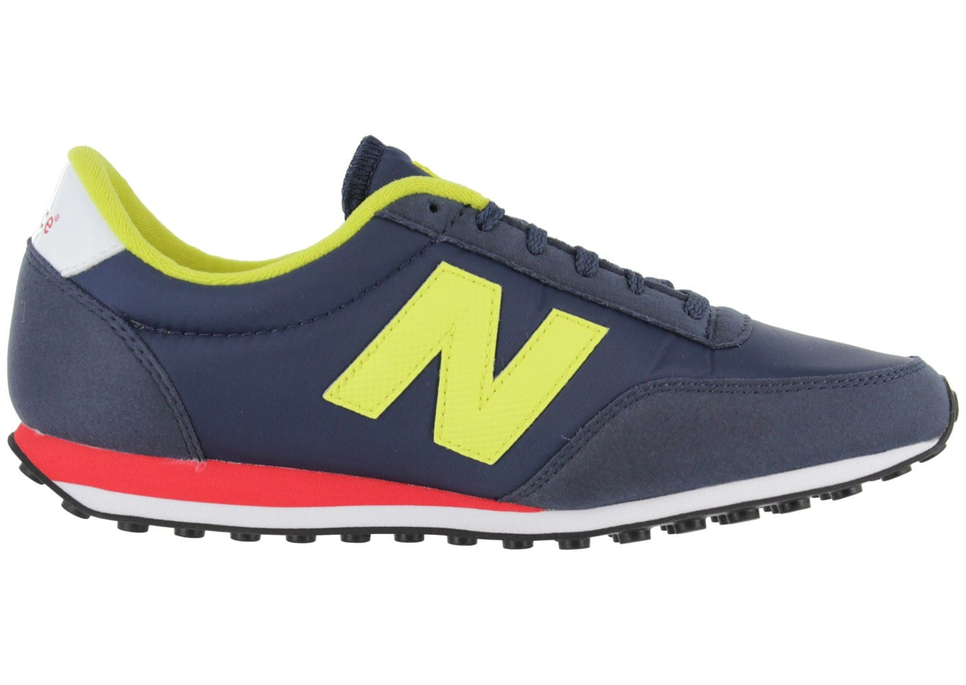 new balance u410 bleu marine jaune chaussures homme. Black Bedroom Furniture Sets. Home Design Ideas