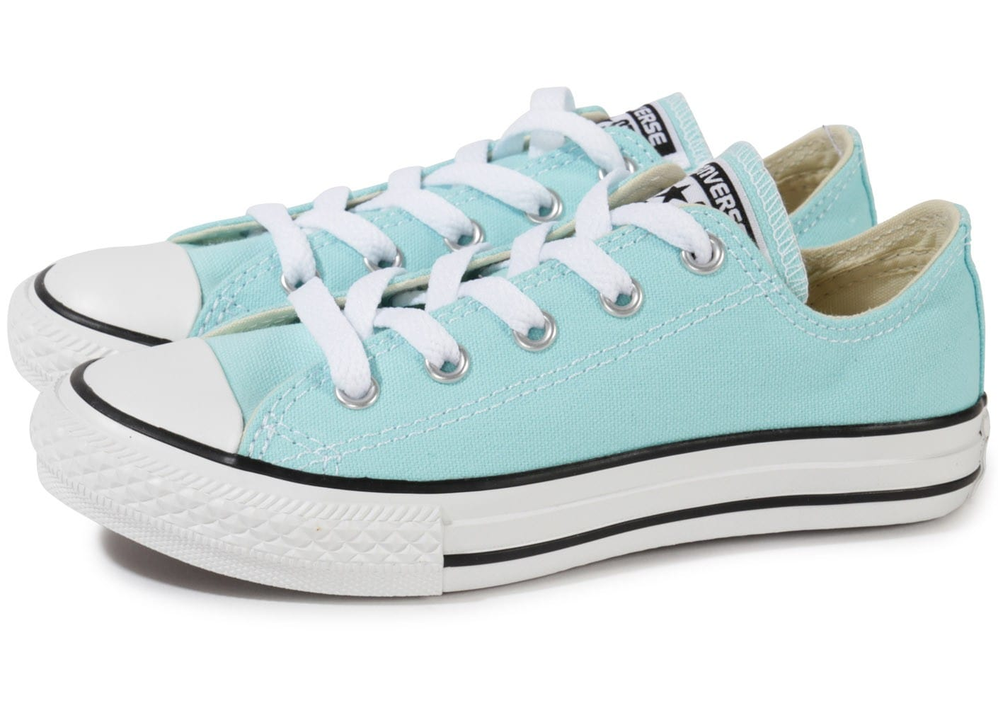 converse chuck taylor all star enfant bleu ciel chaussures chaussures chausport. Black Bedroom Furniture Sets. Home Design Ideas